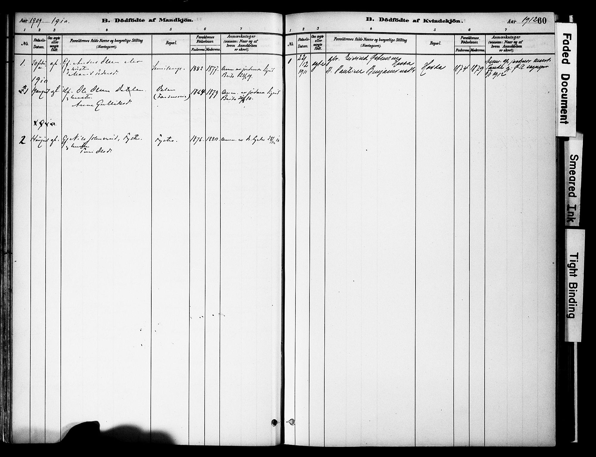 SAH, Vestre Slidre prestekontor, Ministerialbok nr. 6, 1881-1912, s. 60