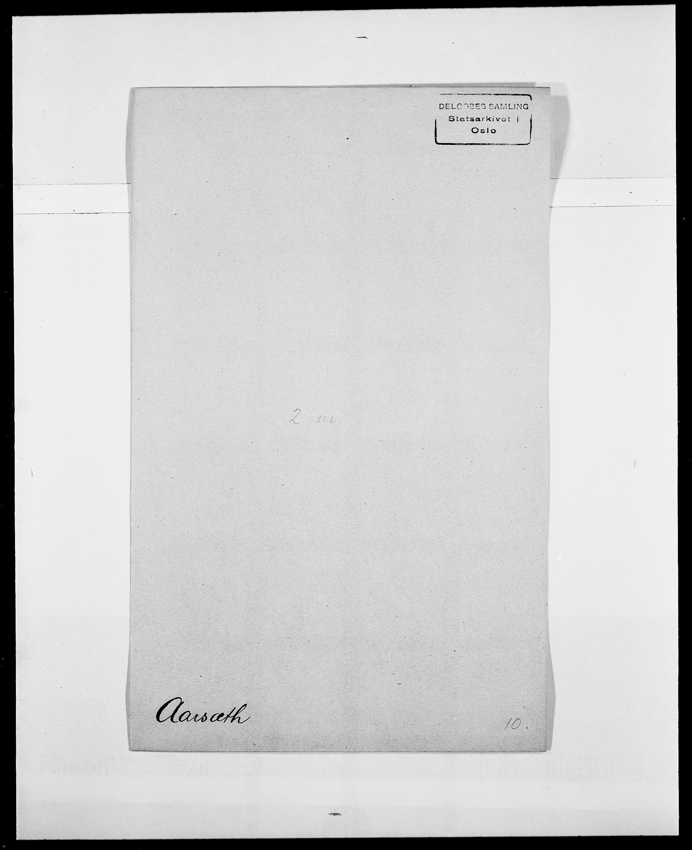 SAO, Delgobe, Charles Antoine - samling, D/Da/L0001: Aabye - Angerman, s. 115