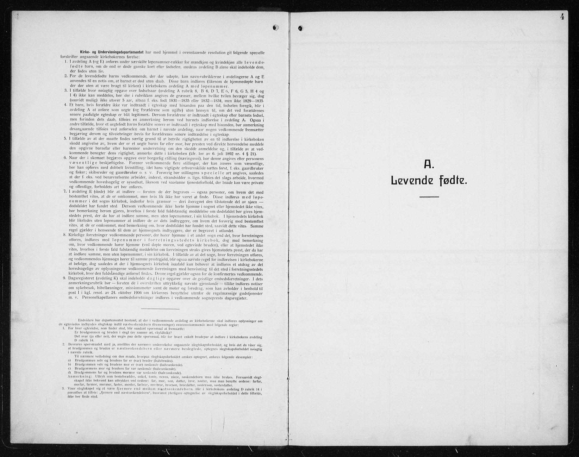 SAT, Ministerialprotokoller, klokkerbøker og fødselsregistre - Sør-Trøndelag, 608/L0342: Klokkerbok nr. 608C08, 1912-1938, s. 4