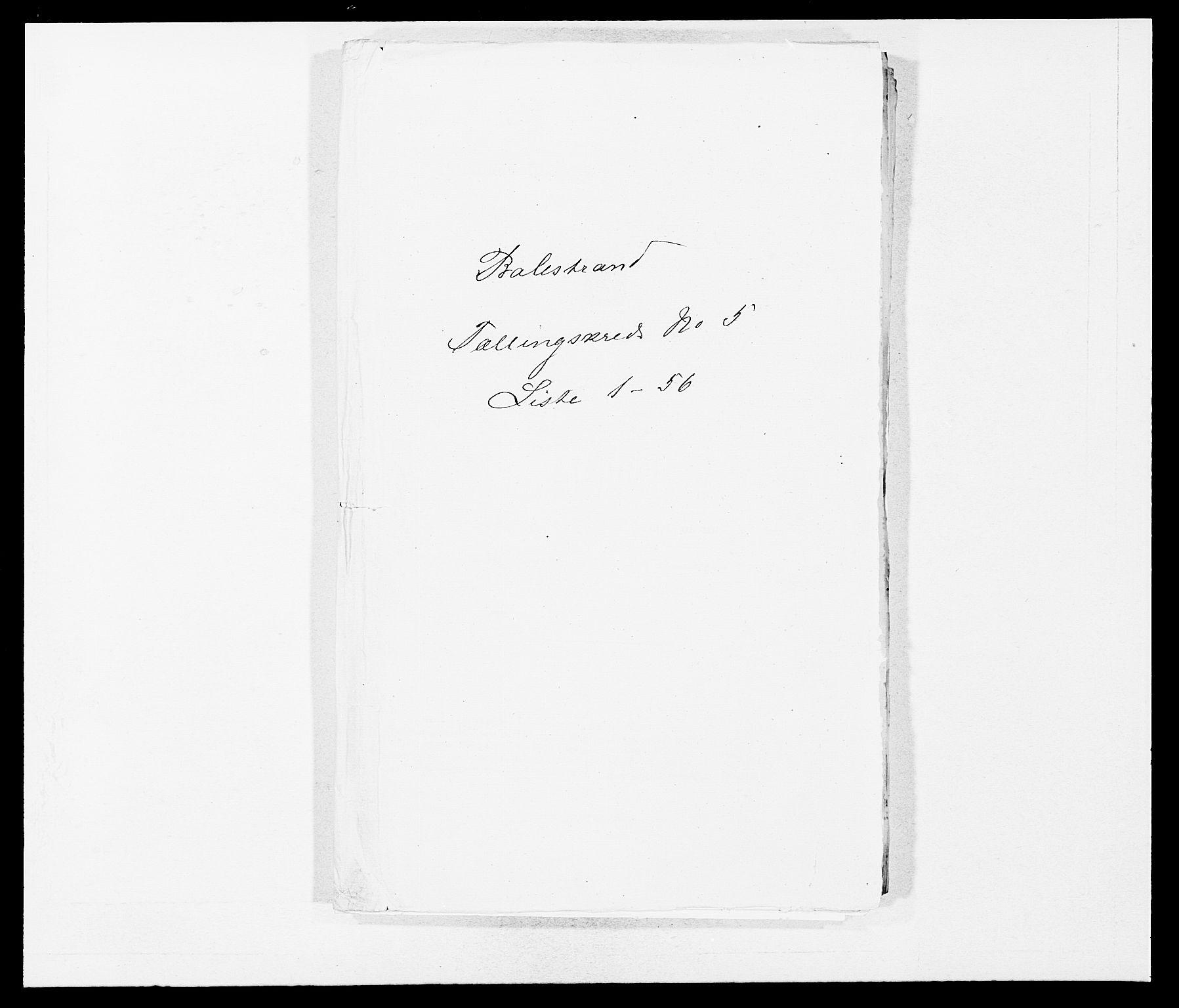 SAB, Folketelling 1875 for 1418P Balestrand prestegjeld, 1875, s. 601