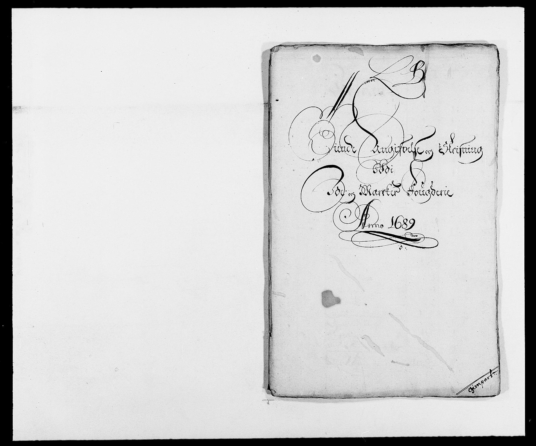 RA, Rentekammeret inntil 1814, Reviderte regnskaper, Fogderegnskap, R01/L0008: Fogderegnskap Idd og Marker, 1689, s. 58