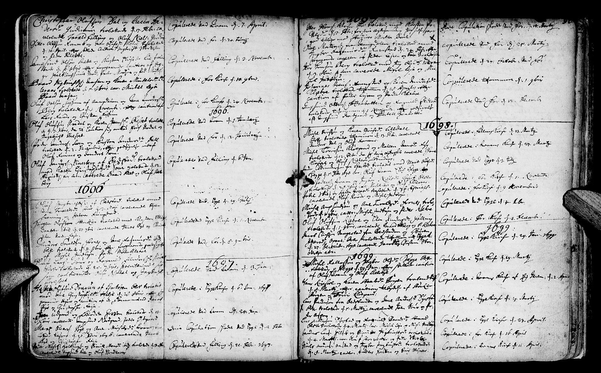 SAT, Ministerialprotokoller, klokkerbøker og fødselsregistre - Nord-Trøndelag, 746/L0439: Ministerialbok nr. 746A01, 1688-1759, s. 92