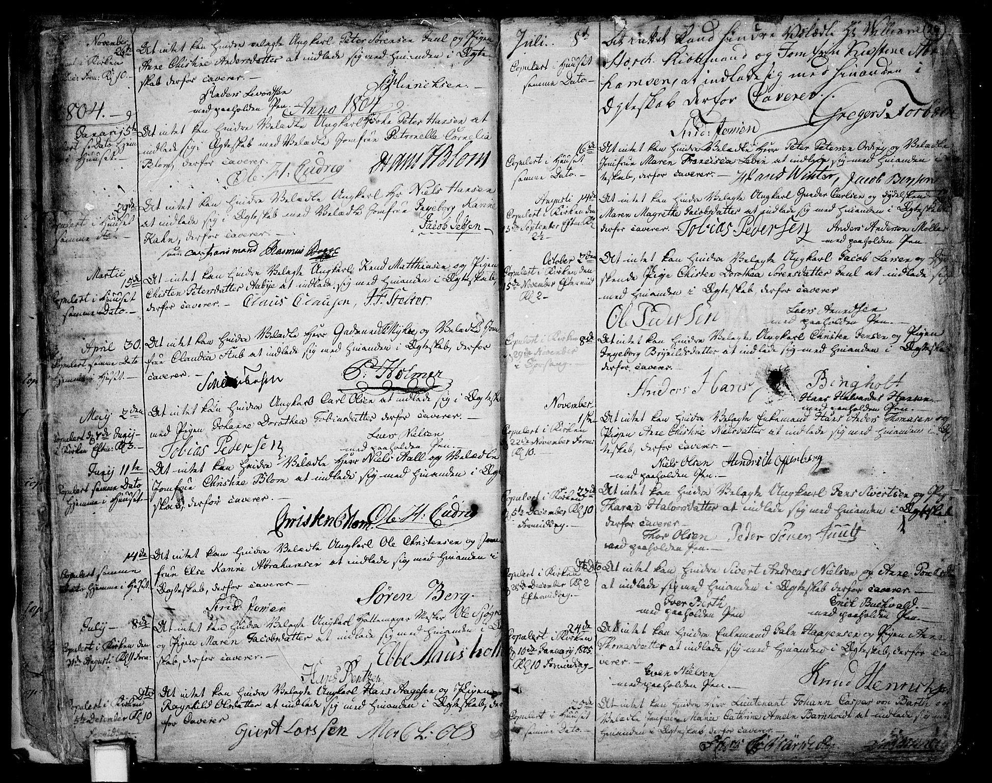SAKO, Skien kirkebøker, F/Fa/L0004: Ministerialbok nr. 4, 1792-1814, s. 28-29