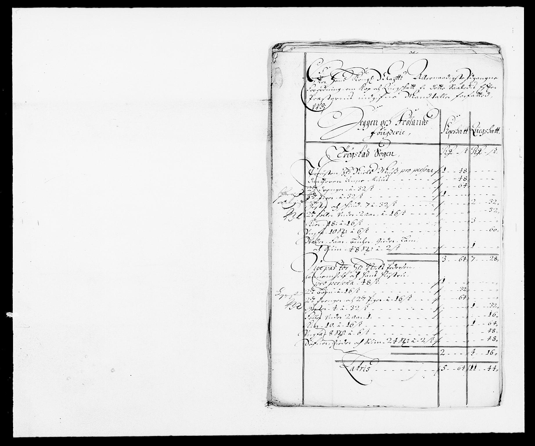 RA, Rentekammeret inntil 1814, Reviderte regnskaper, Fogderegnskap, R06/L0280: Fogderegnskap Heggen og Frøland, 1681-1684, s. 408
