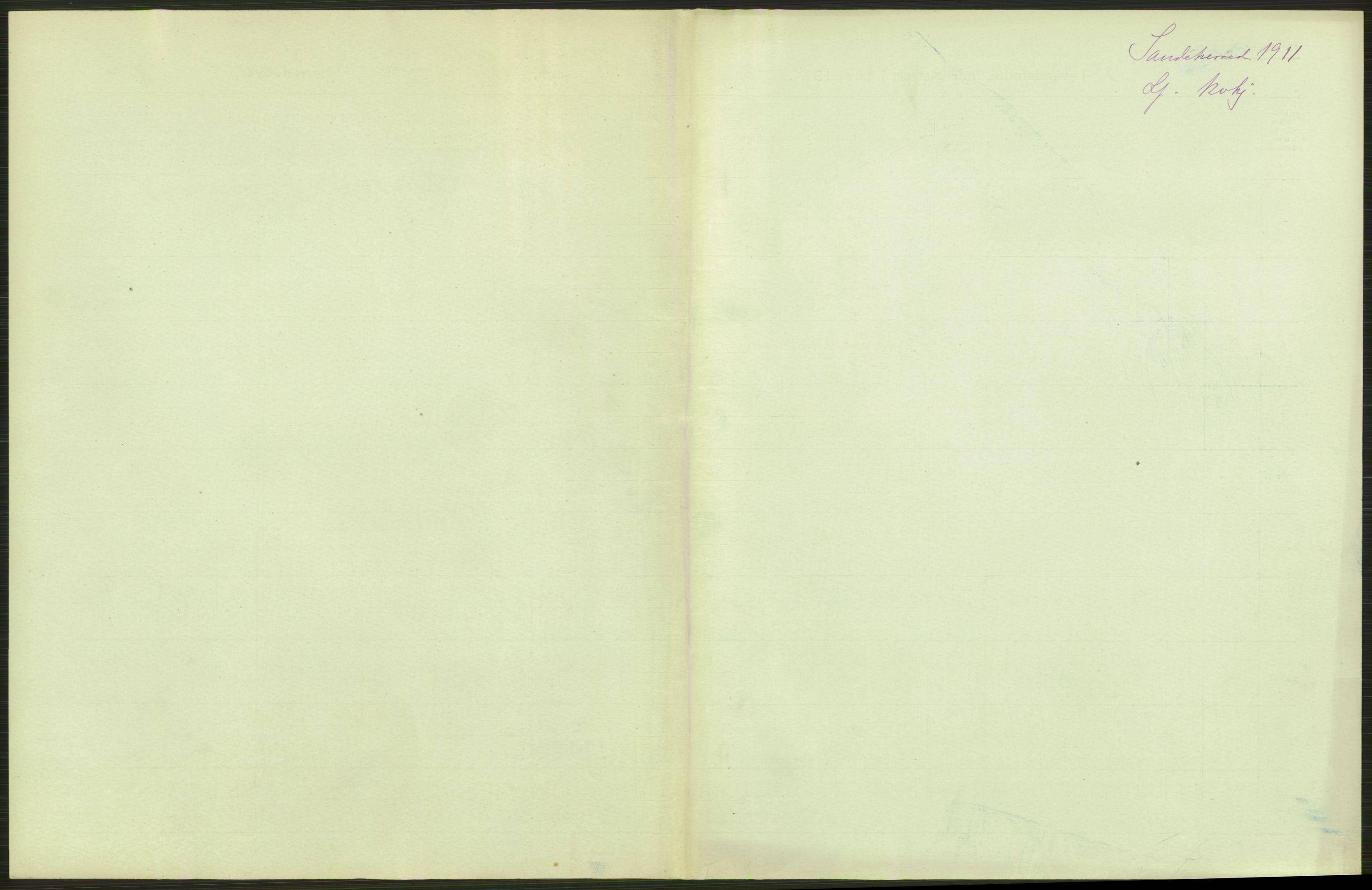 RA, Statistisk sentralbyrå, Sosiodemografiske emner, Befolkning, D/Df/Dfb/Dfba/L0018: Jarlsberg og Larvik amt:  Levendefødte menn og kvinner. Bygder og byer., 1911