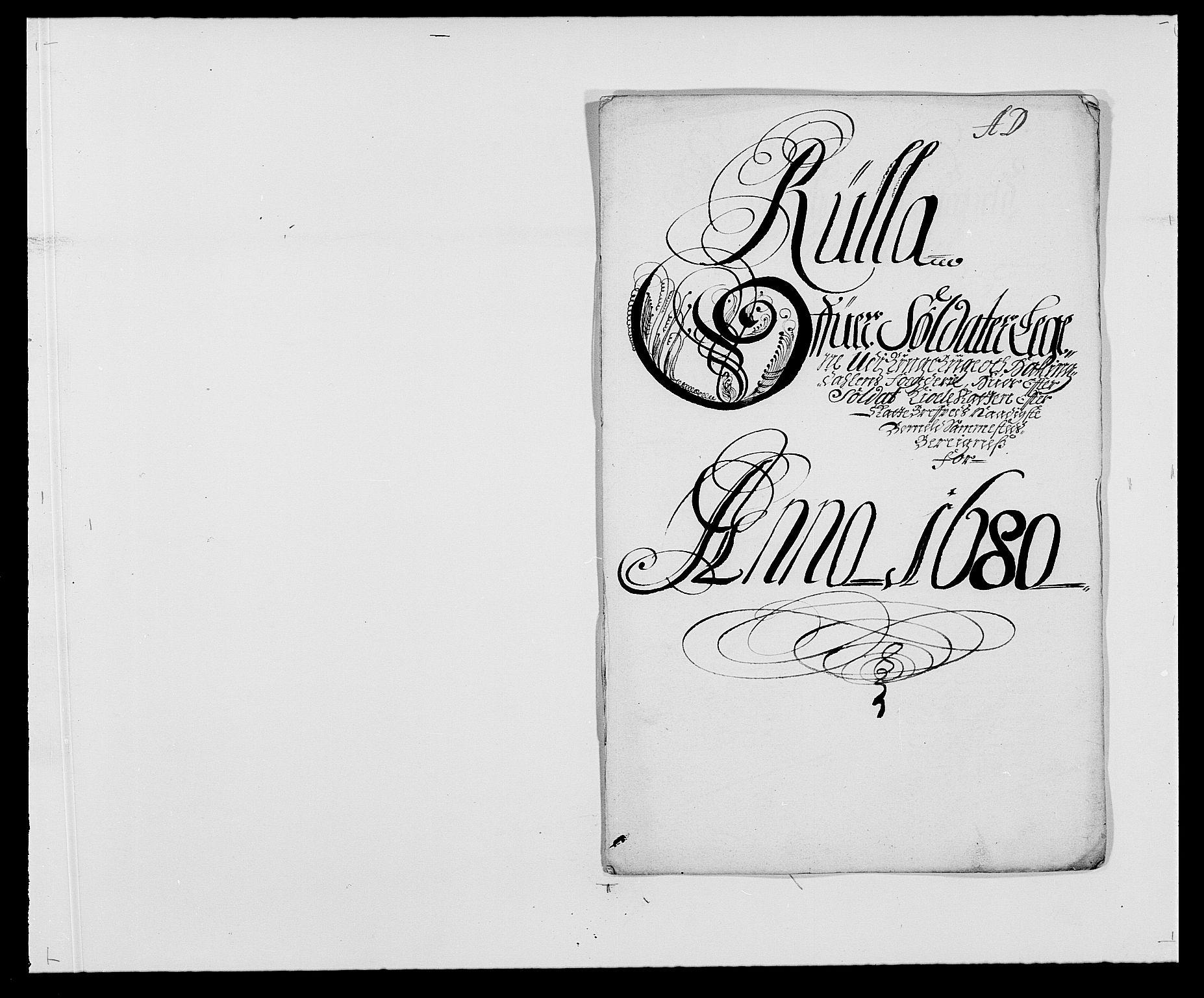 RA, Rentekammeret inntil 1814, Reviderte regnskaper, Fogderegnskap, R21/L1444: Fogderegnskap Ringerike og Hallingdal, 1680-1681, s. 106