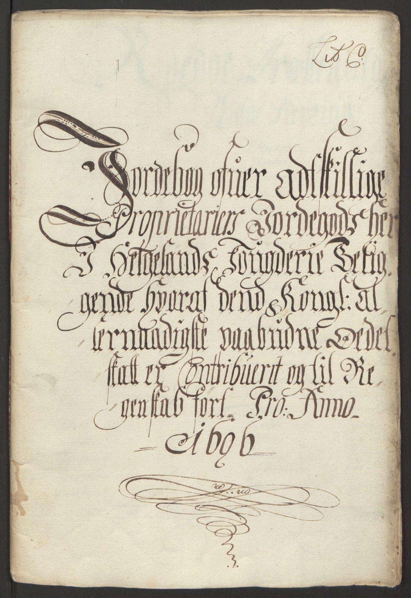 RA, Rentekammeret inntil 1814, Reviderte regnskaper, Fogderegnskap, R65/L4505: Fogderegnskap Helgeland, 1693-1696, s. 477