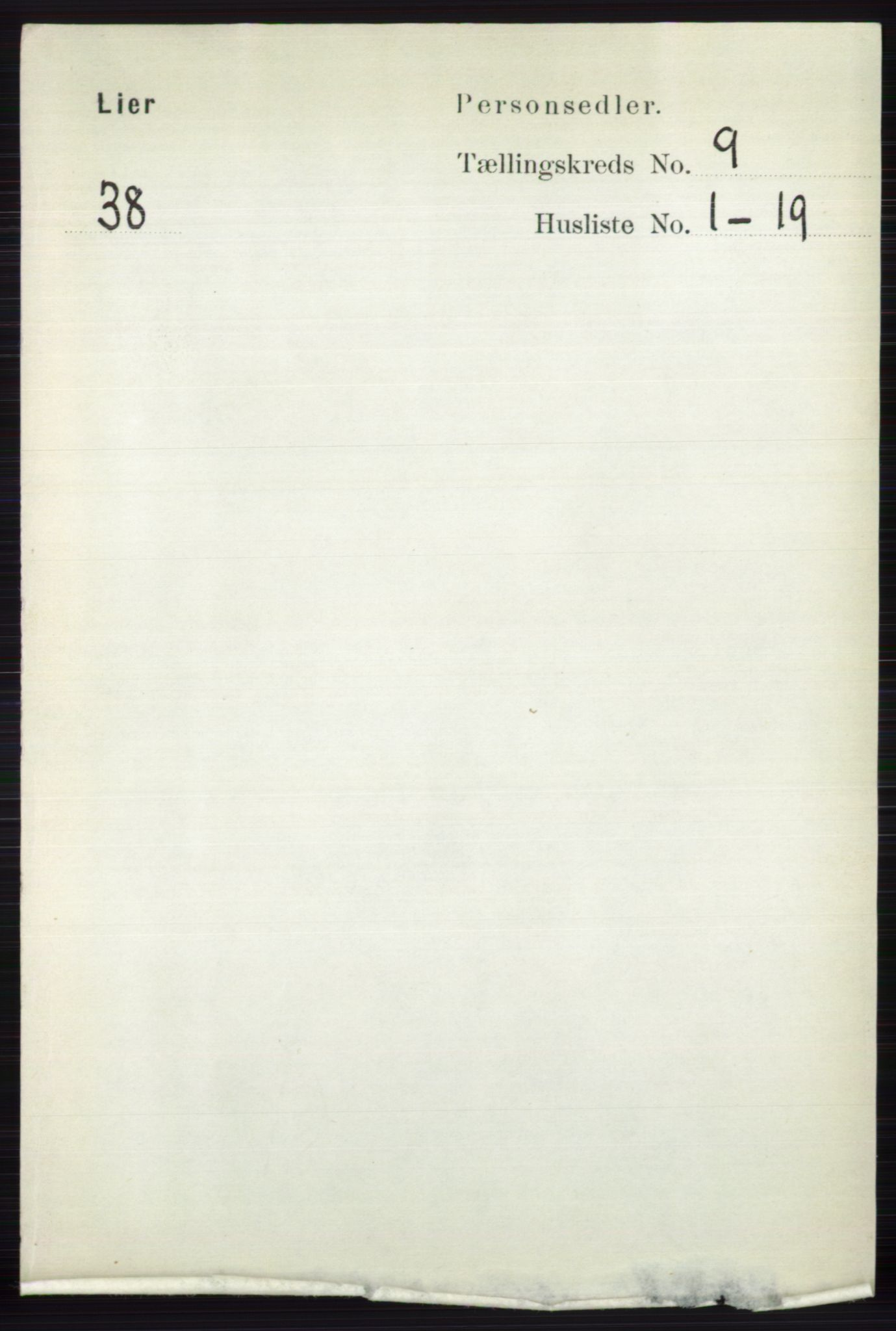 RA, Folketelling 1891 for 0626 Lier herred, 1891, s. 5637