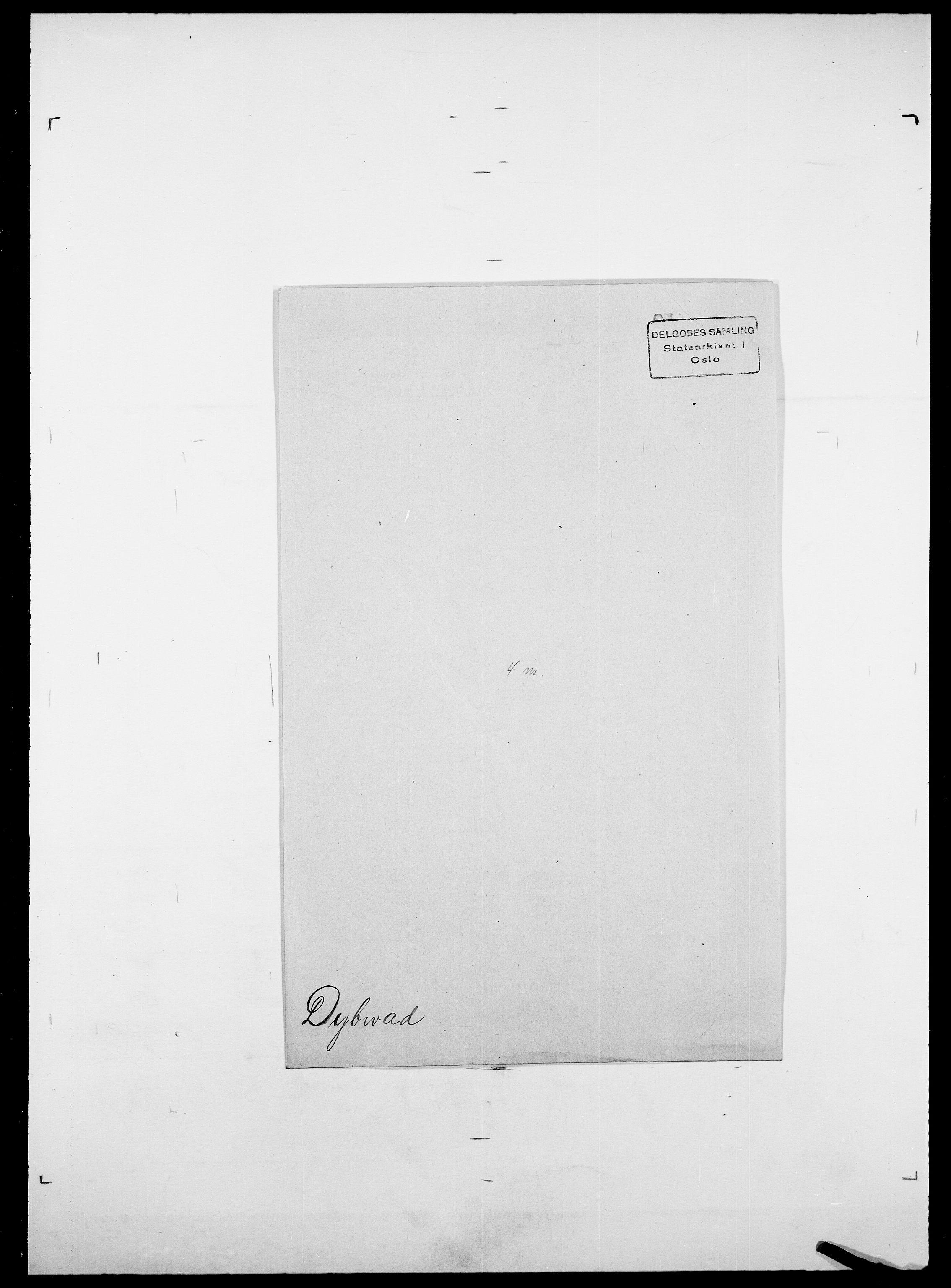 SAO, Delgobe, Charles Antoine - samling, D/Da/L0009: Dahl - v. Düren, s. 892