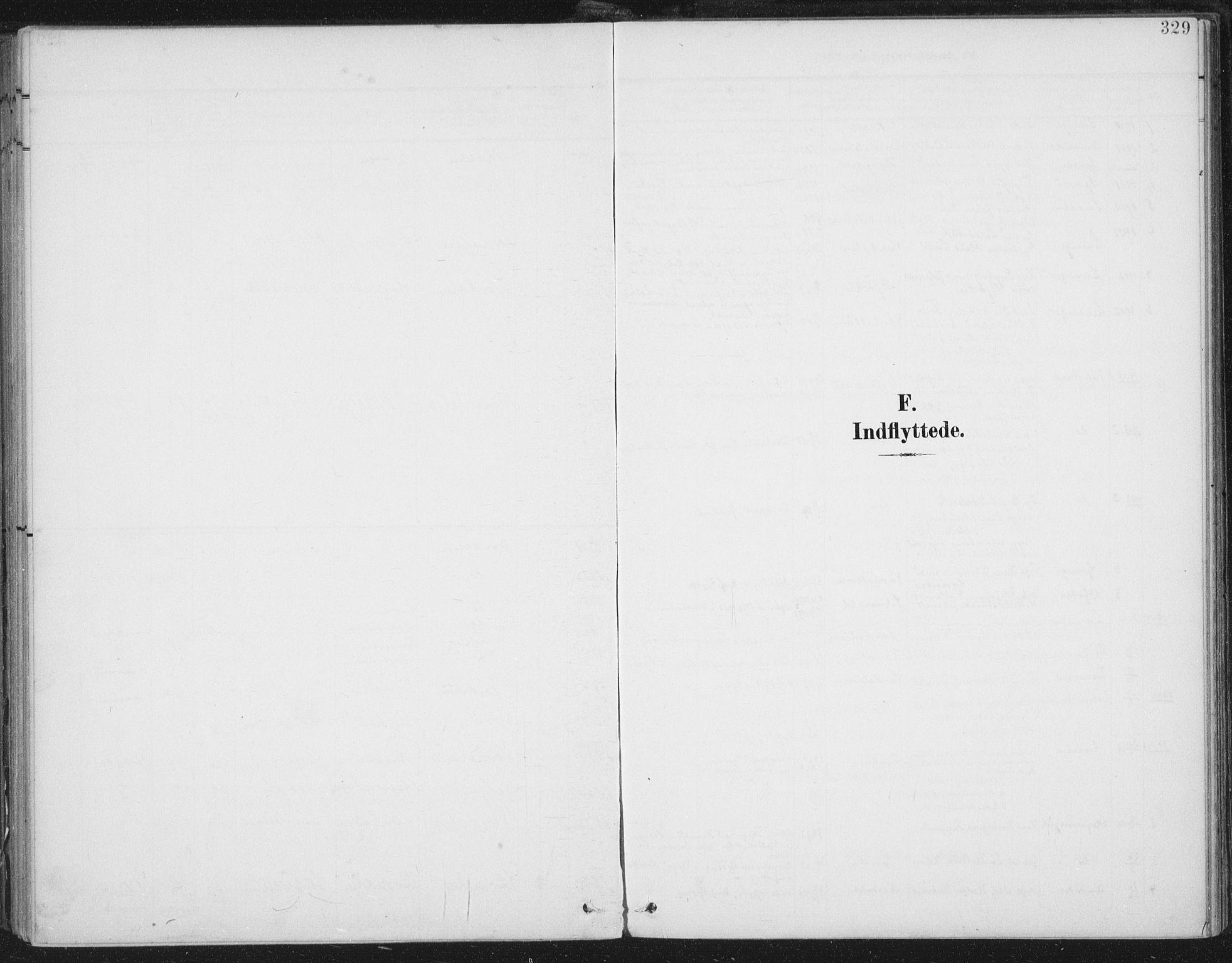 SAT, Ministerialprotokoller, klokkerbøker og fødselsregistre - Nord-Trøndelag, 723/L0246: Ministerialbok nr. 723A15, 1900-1917, s. 329