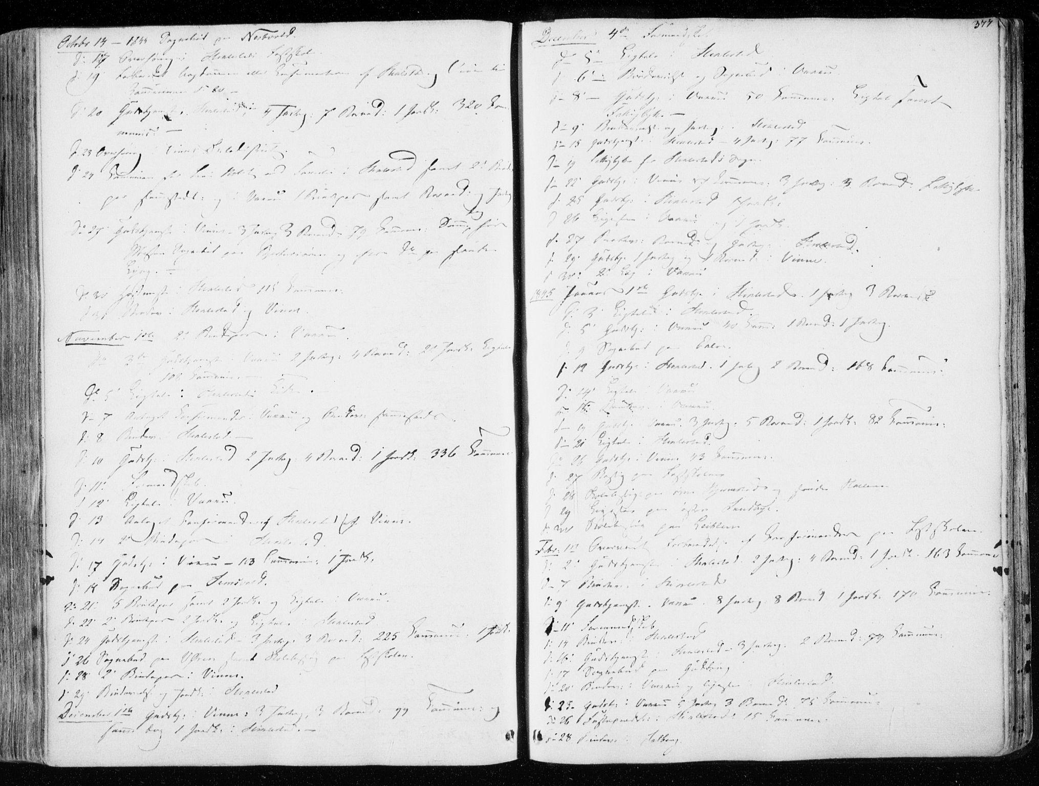 SAT, Ministerialprotokoller, klokkerbøker og fødselsregistre - Nord-Trøndelag, 723/L0239: Ministerialbok nr. 723A08, 1841-1851, s. 377