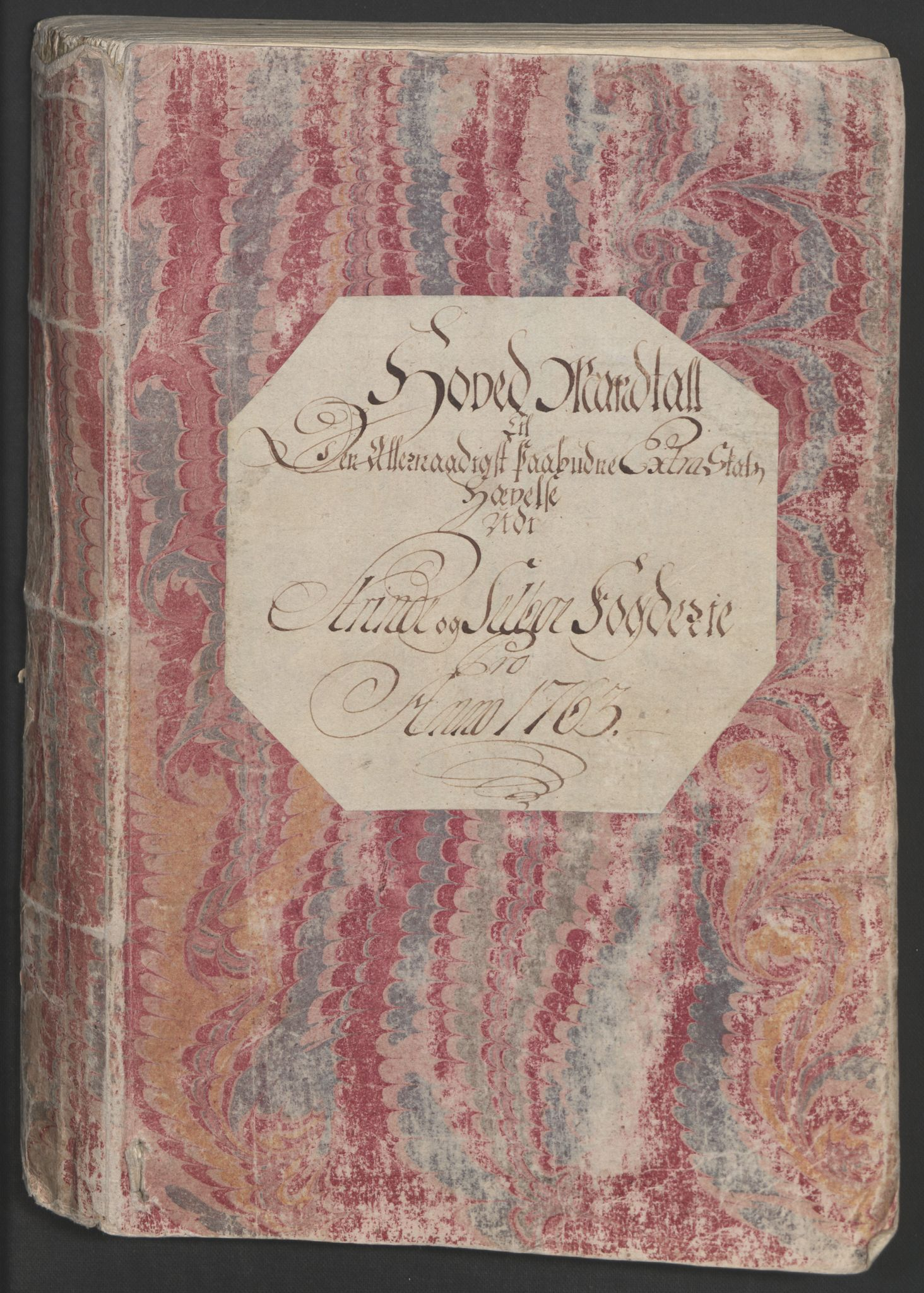RA, Rentekammeret inntil 1814, Realistisk ordnet avdeling, Ol/L0020: [Gg 10]: Ekstraskatten, 23.09.1762. Romsdal, Strinda, Selbu, Inderøy., 1763, s. 2
