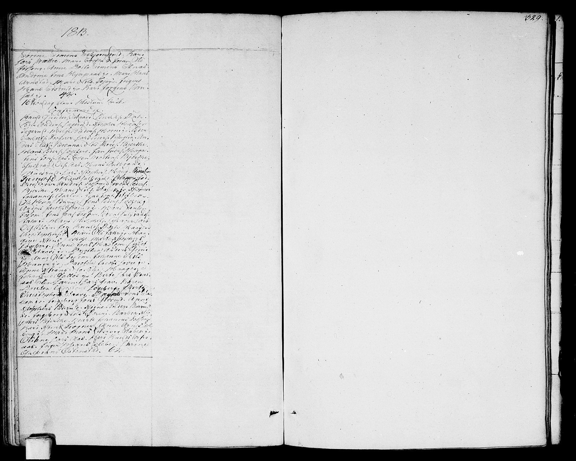 SAO, Asker prestekontor Kirkebøker, F/Fa/L0005: Ministerialbok nr. I 5, 1807-1813, s. 329