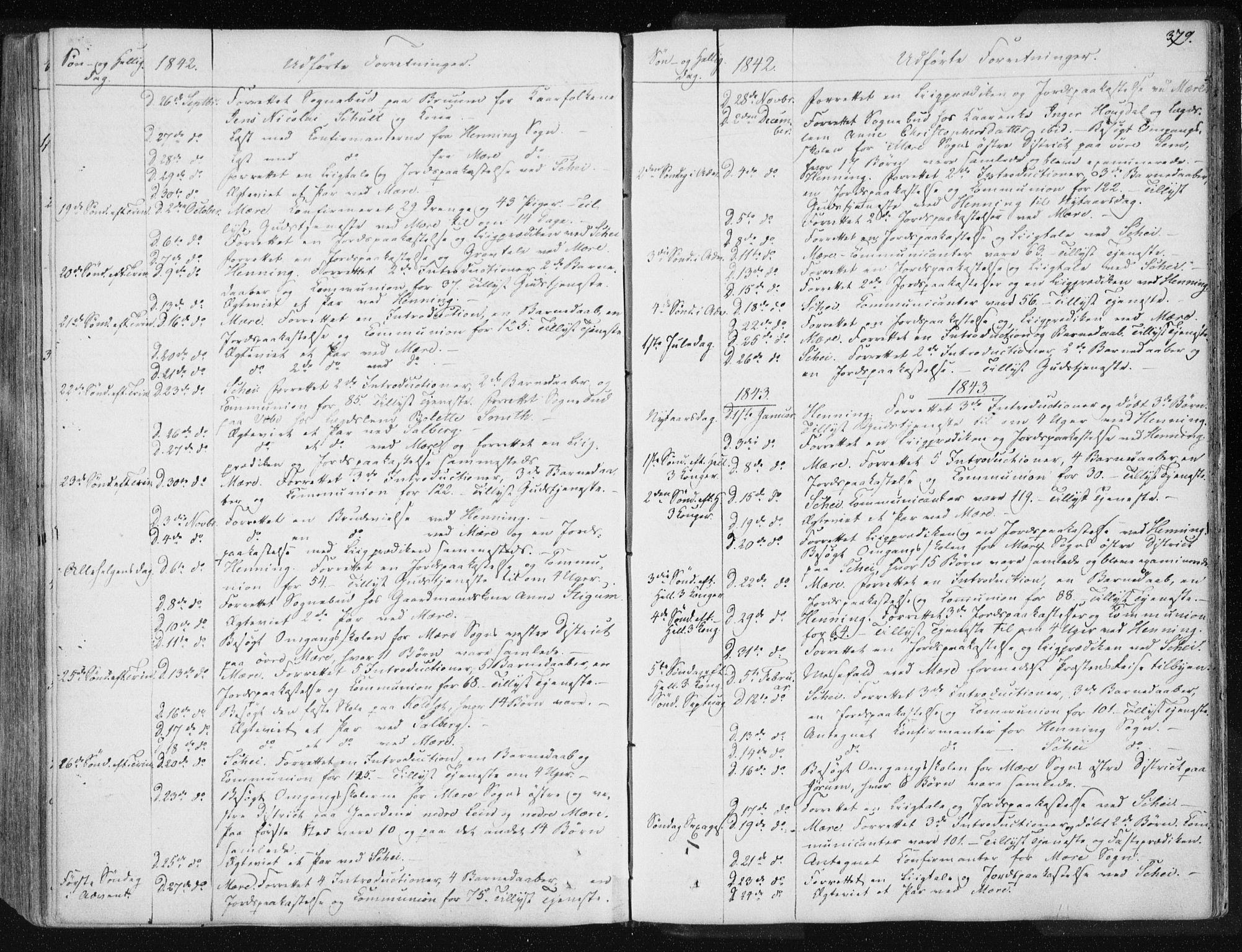SAT, Ministerialprotokoller, klokkerbøker og fødselsregistre - Nord-Trøndelag, 735/L0339: Ministerialbok nr. 735A06 /1, 1836-1848, s. 379