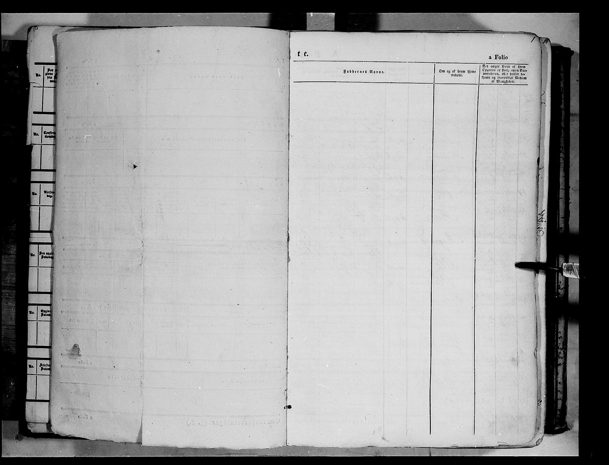 SAH, Vågå prestekontor, Ministerialbok nr. 6 /1, 1856-1872, s. 1