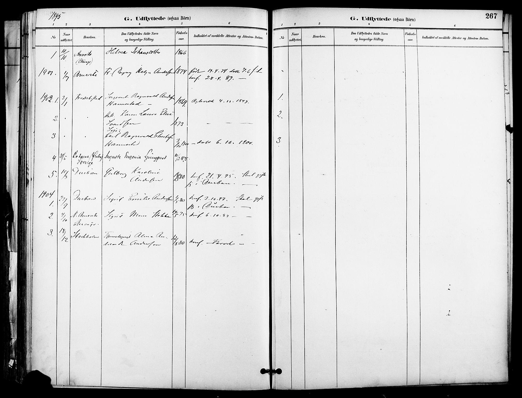 SAO, Garnisonsmenigheten Kirkebøker, F/Fa/L0013: Ministerialbok nr. 13, 1894-1904, s. 267