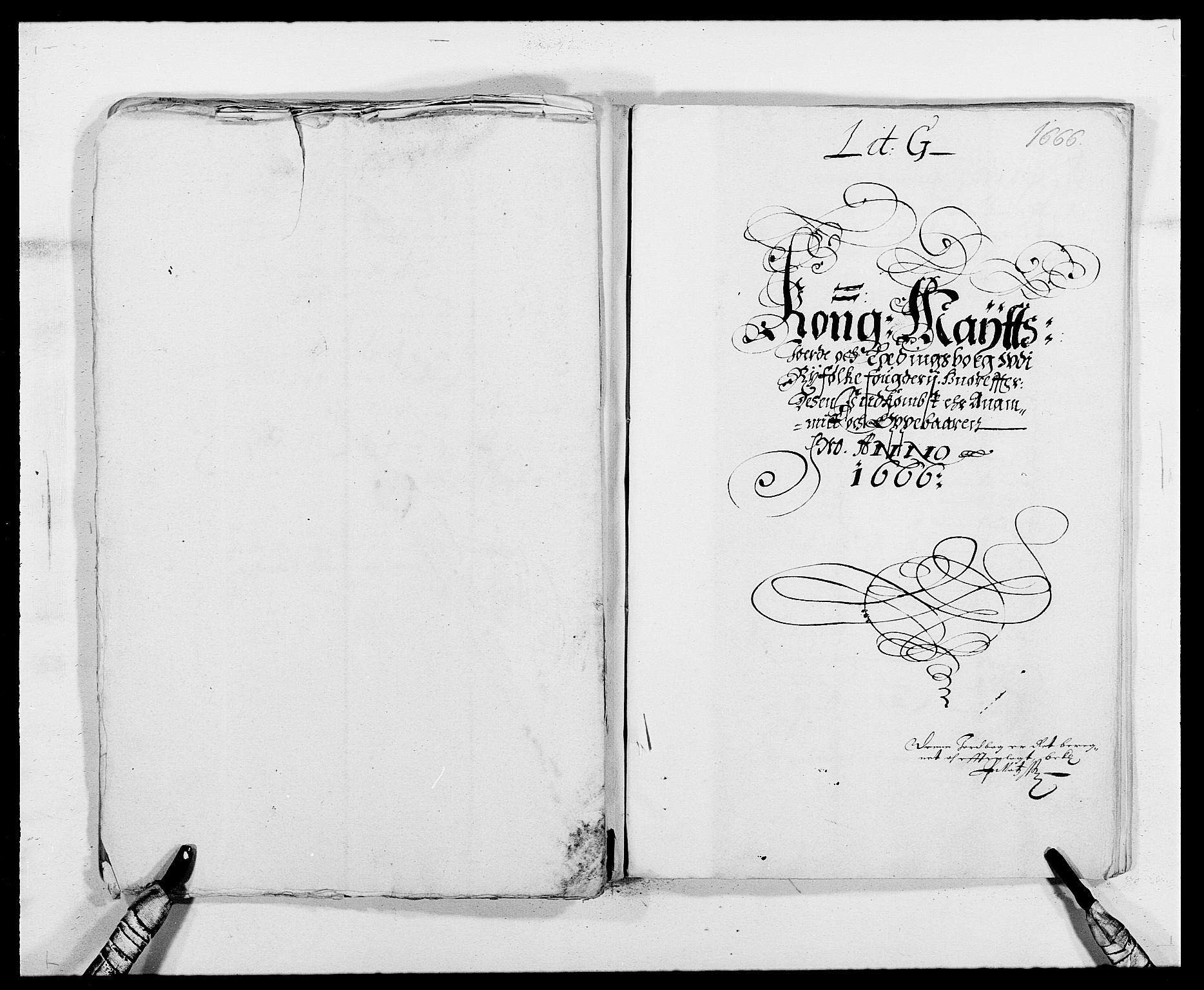 RA, Rentekammeret inntil 1814, Reviderte regnskaper, Fogderegnskap, R47/L2840: Fogderegnskap Ryfylke, 1665-1669, s. 33