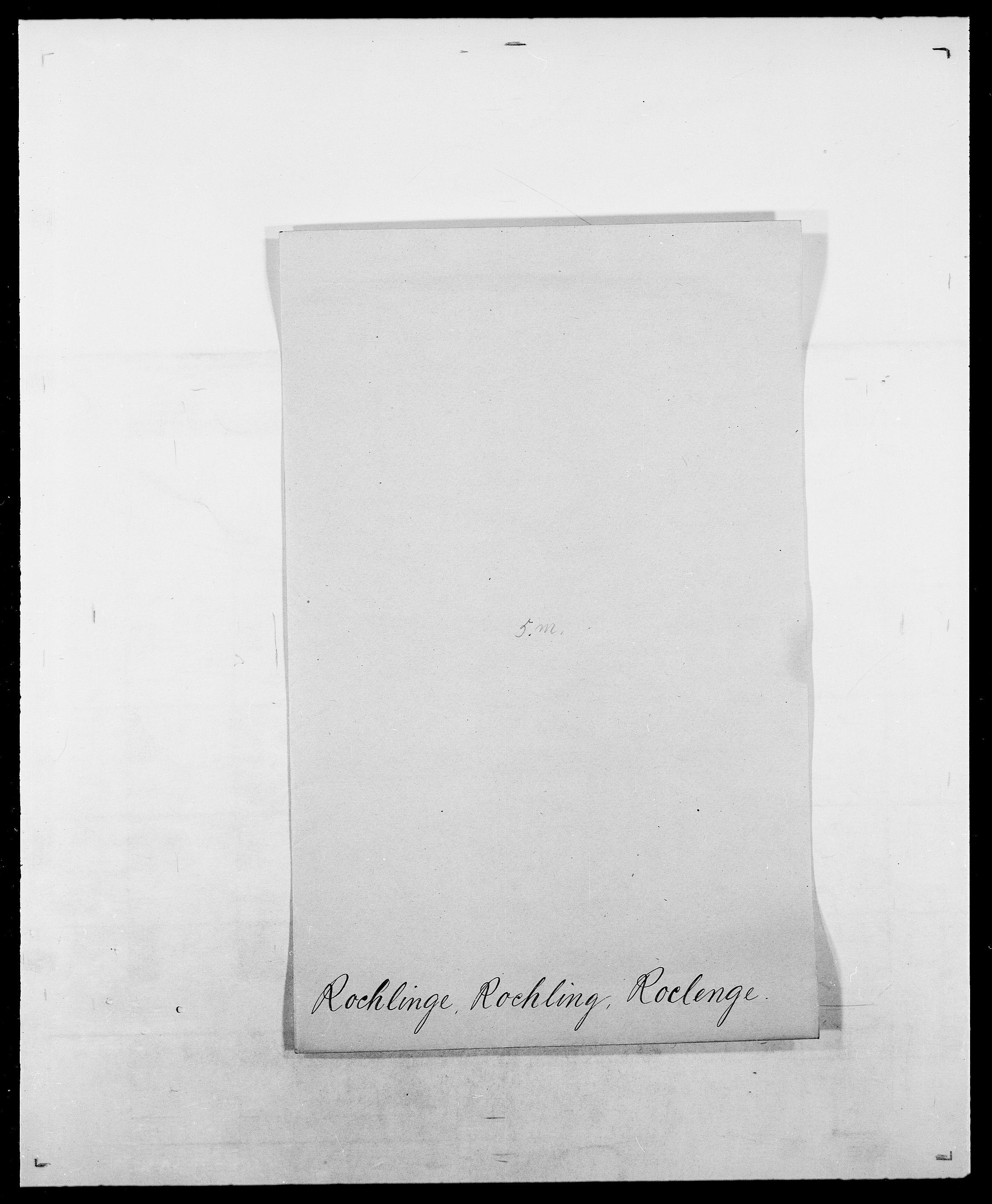 SAO, Delgobe, Charles Antoine - samling, D/Da/L0033: Roald - Røyem, s. 11
