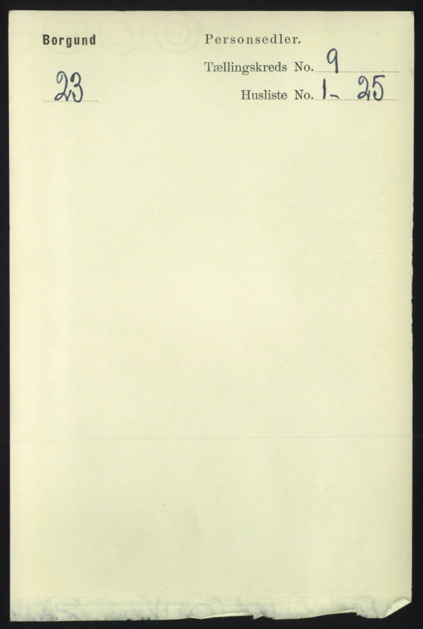 RA, Folketelling 1891 for 1531 Borgund herred, 1891, s. 2271