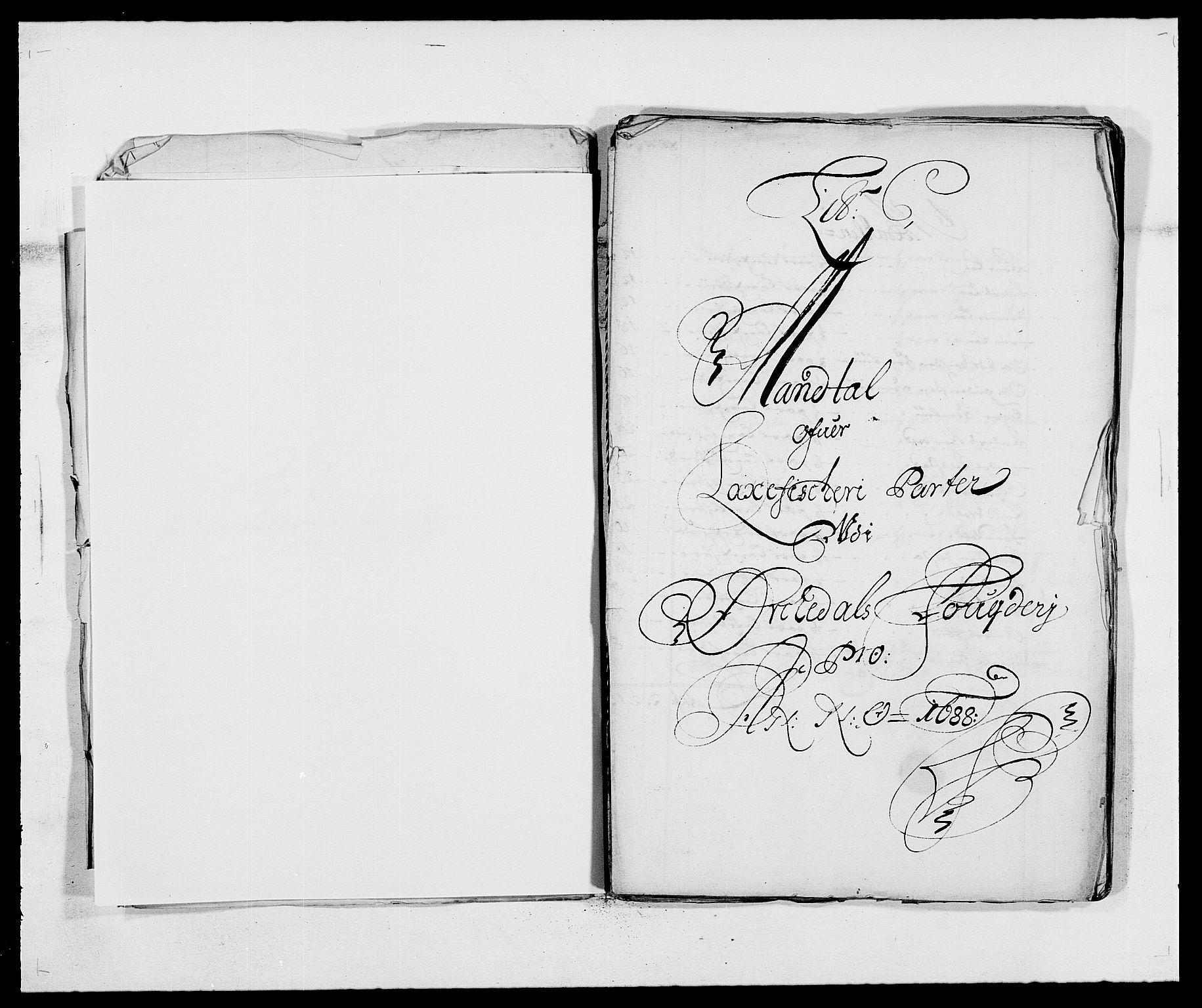 RA, Rentekammeret inntil 1814, Reviderte regnskaper, Fogderegnskap, R58/L3935: Fogderegnskap Orkdal, 1687-1688, s. 257