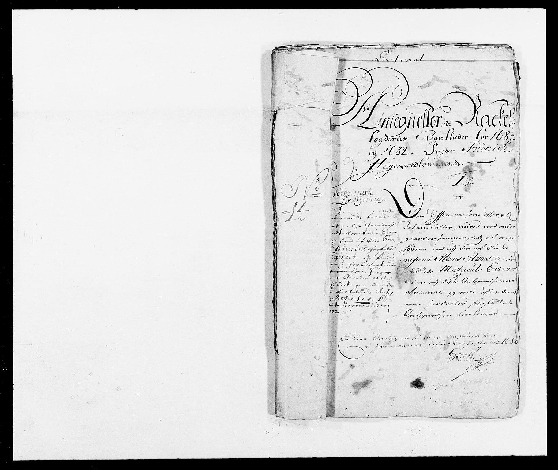 RA, Rentekammeret inntil 1814, Reviderte regnskaper, Fogderegnskap, R05/L0276: Fogderegnskap Rakkestad, 1683-1688, s. 333