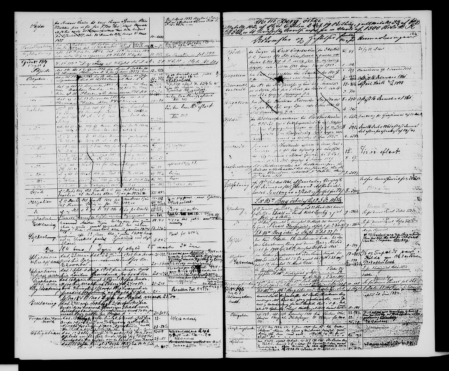 SAH, Sør-Hedmark sorenskriveri, H/Ha/Hac/Hacc/L0001: Panteregister nr. 3.1, 1855-1943, s. 126