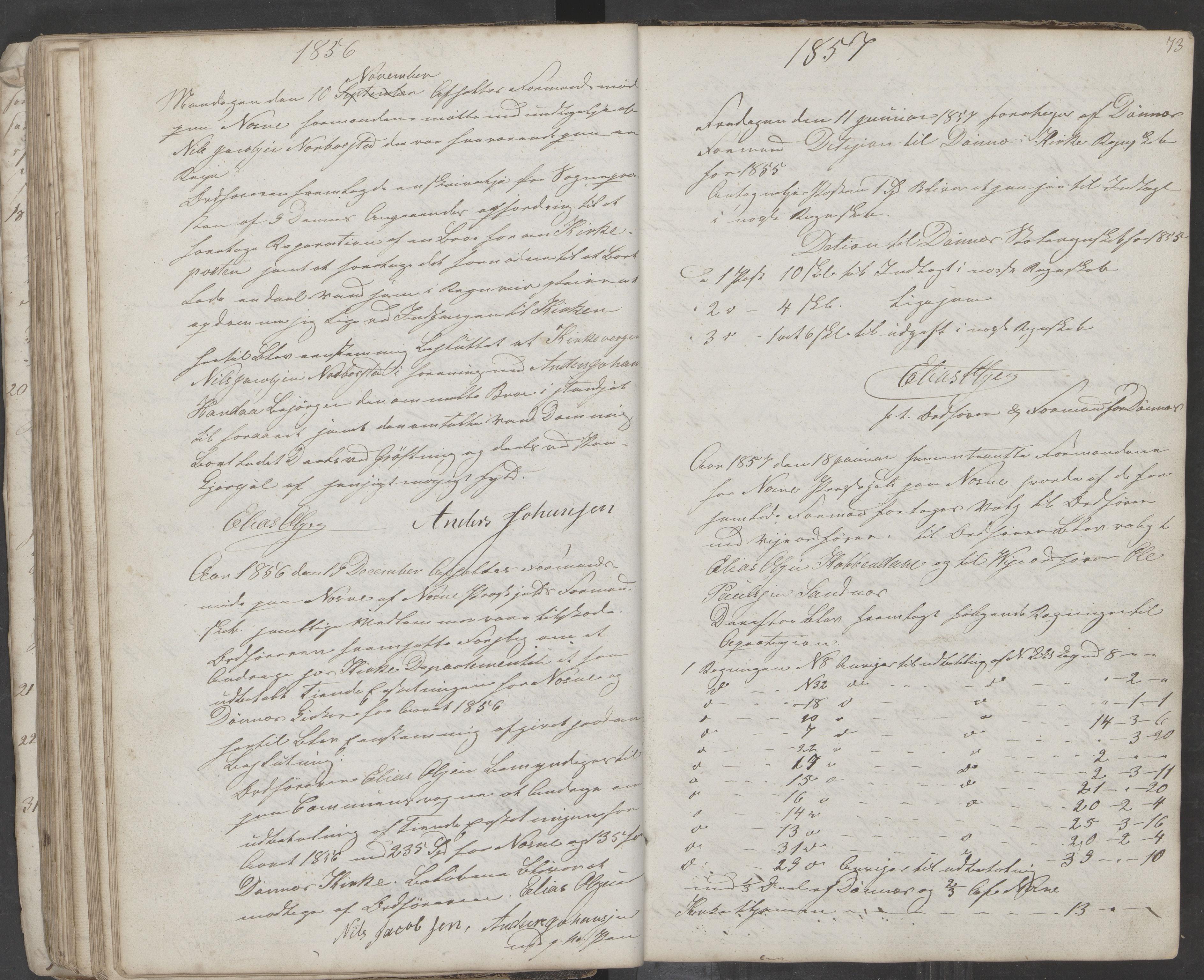 AIN, Nesna kommune. Formannskapet, 100/L0001: Møtebok, 1838-1873, s. 73