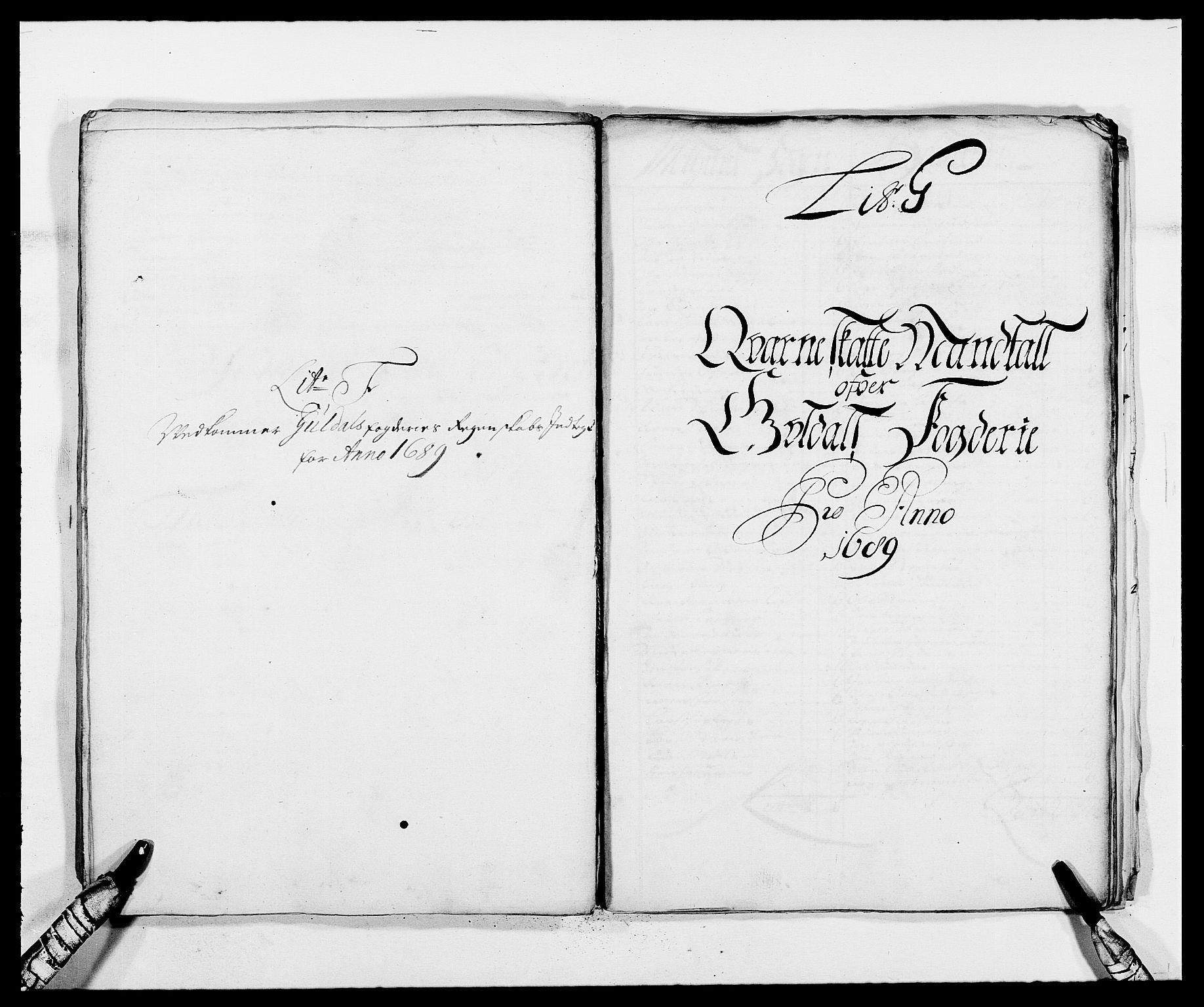 RA, Rentekammeret inntil 1814, Reviderte regnskaper, Fogderegnskap, R59/L3940: Fogderegnskap Gauldal, 1689-1690, s. 77