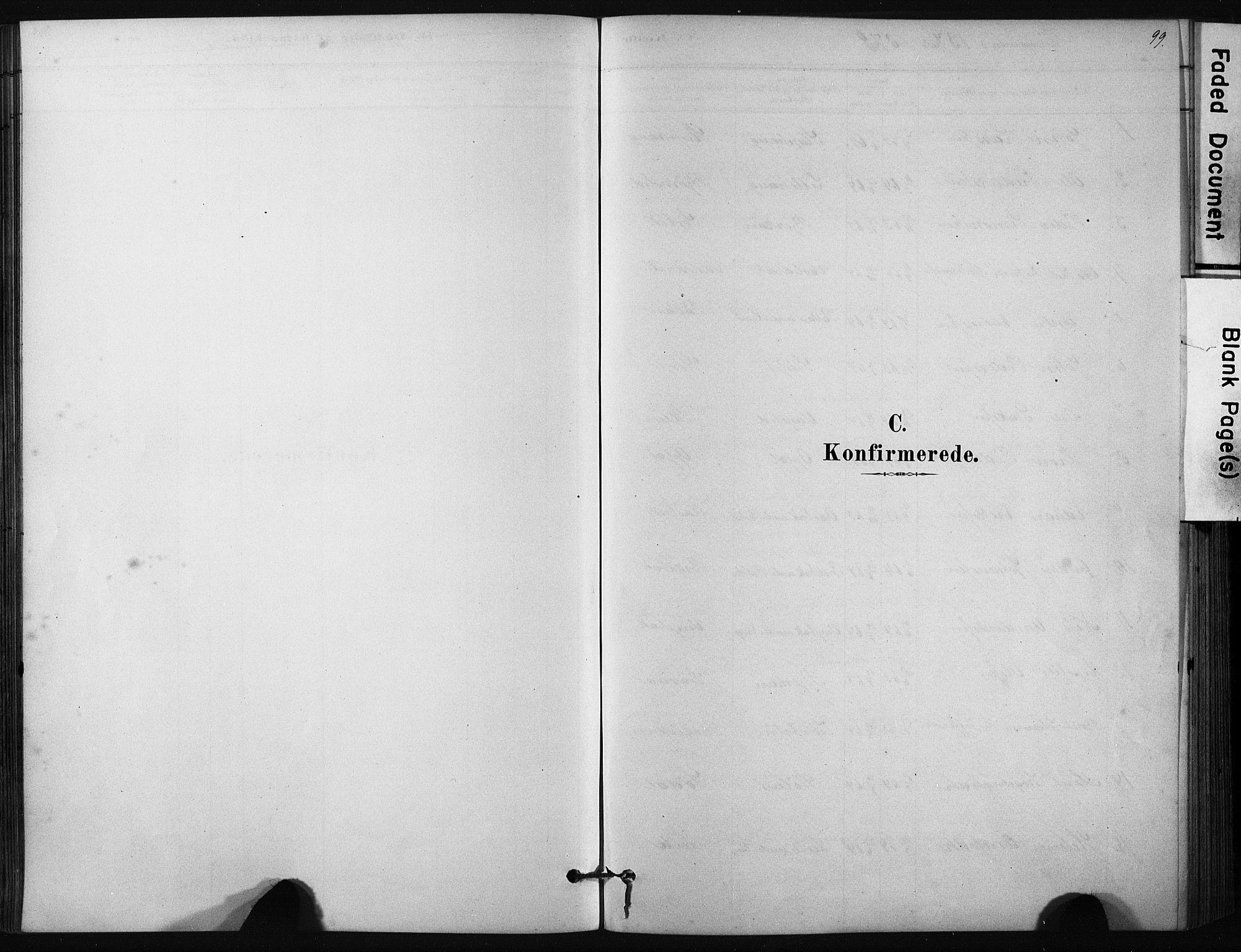 SAT, Ministerialprotokoller, klokkerbøker og fødselsregistre - Sør-Trøndelag, 631/L0512: Ministerialbok nr. 631A01, 1879-1912, s. 99
