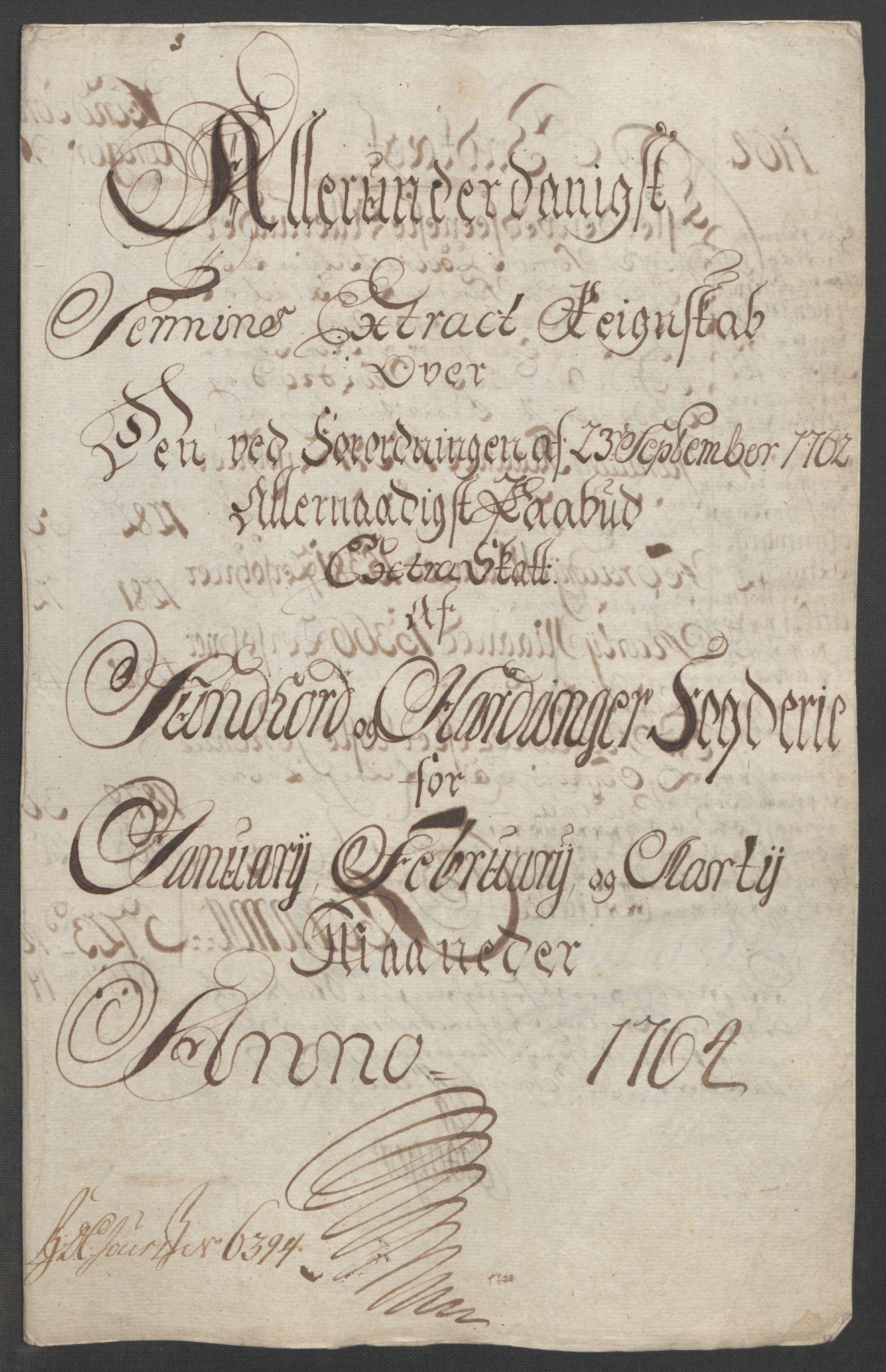 RA, Rentekammeret inntil 1814, Reviderte regnskaper, Fogderegnskap, R48/L3136: Ekstraskatten Sunnhordland og Hardanger, 1762-1772, s. 57