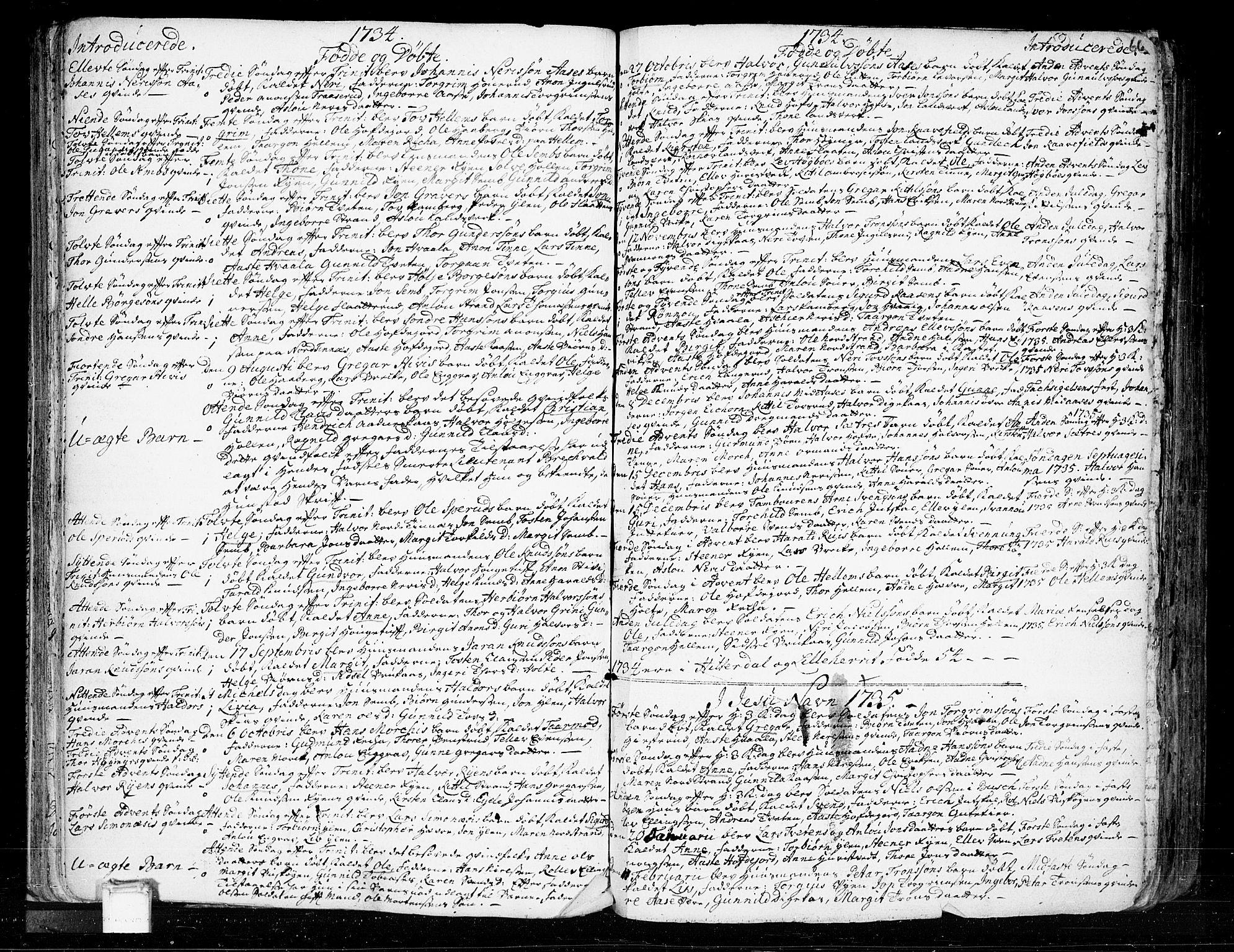 SAKO, Heddal kirkebøker, F/Fa/L0003: Ministerialbok nr. I 3, 1723-1783, s. 66
