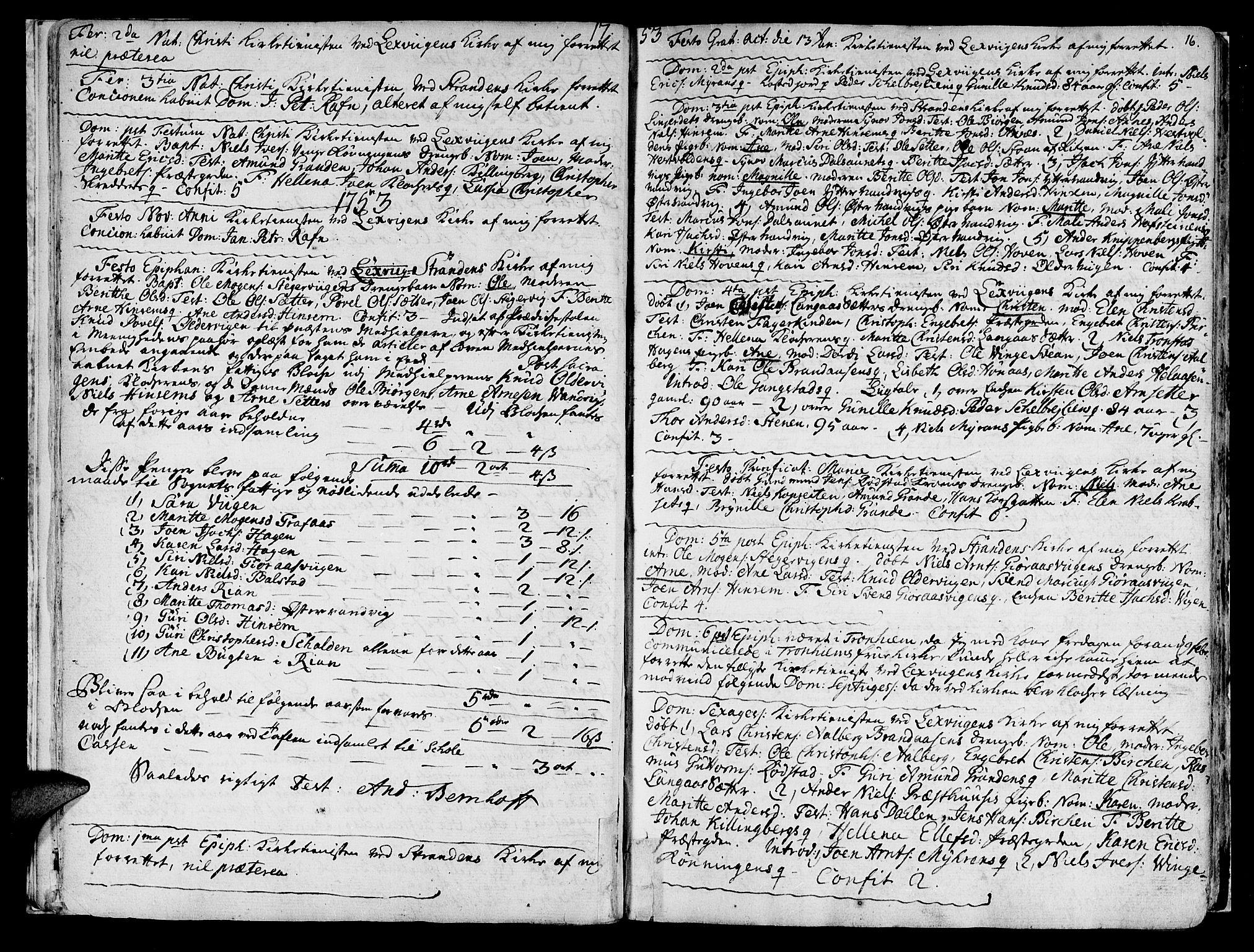 SAT, Ministerialprotokoller, klokkerbøker og fødselsregistre - Nord-Trøndelag, 701/L0003: Ministerialbok nr. 701A03, 1751-1783, s. 16
