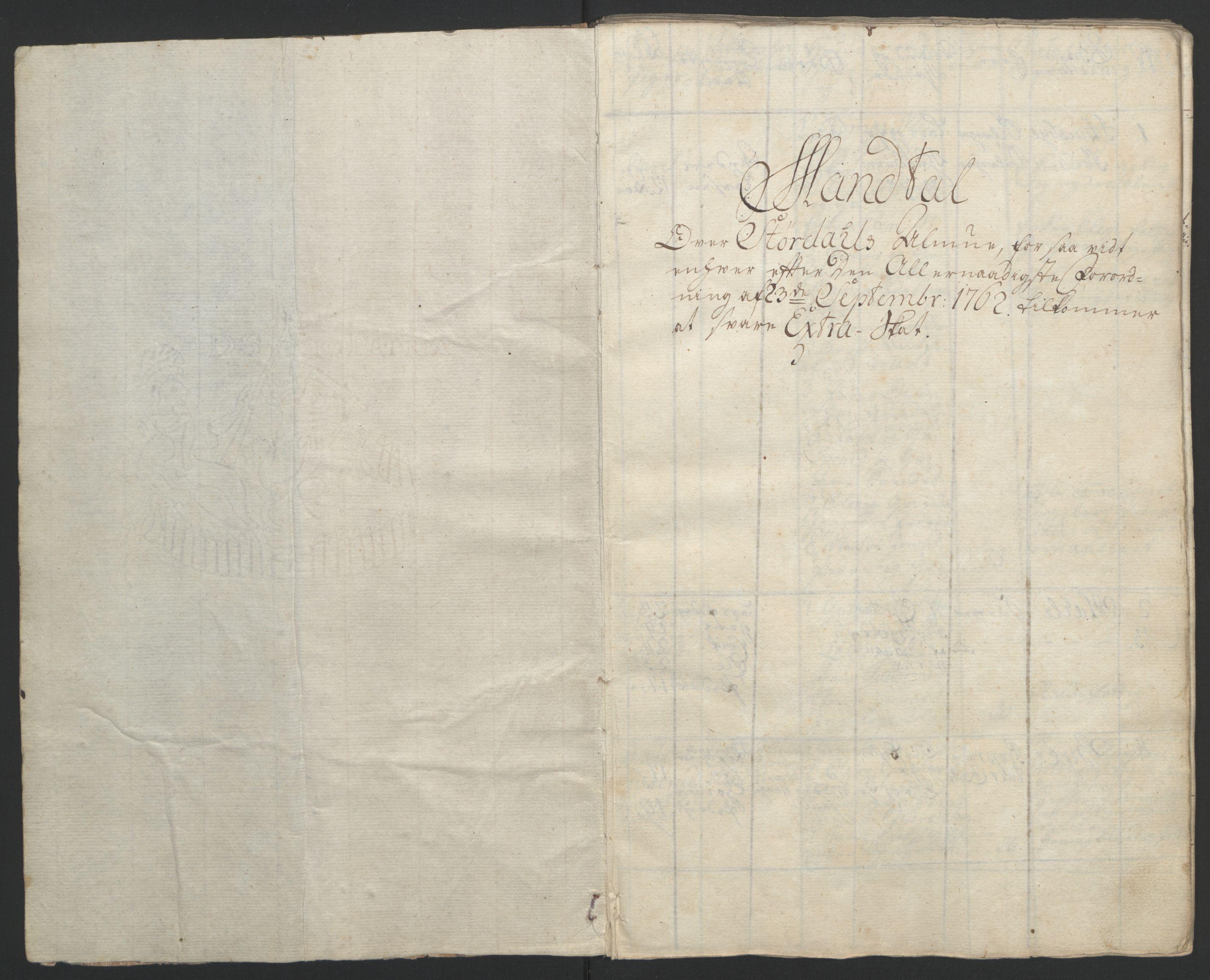 RA, Rentekammeret inntil 1814, Reviderte regnskaper, Fogderegnskap, R62/L4303: Ekstraskatten Stjørdal og Verdal, 1762-1763, s. 201