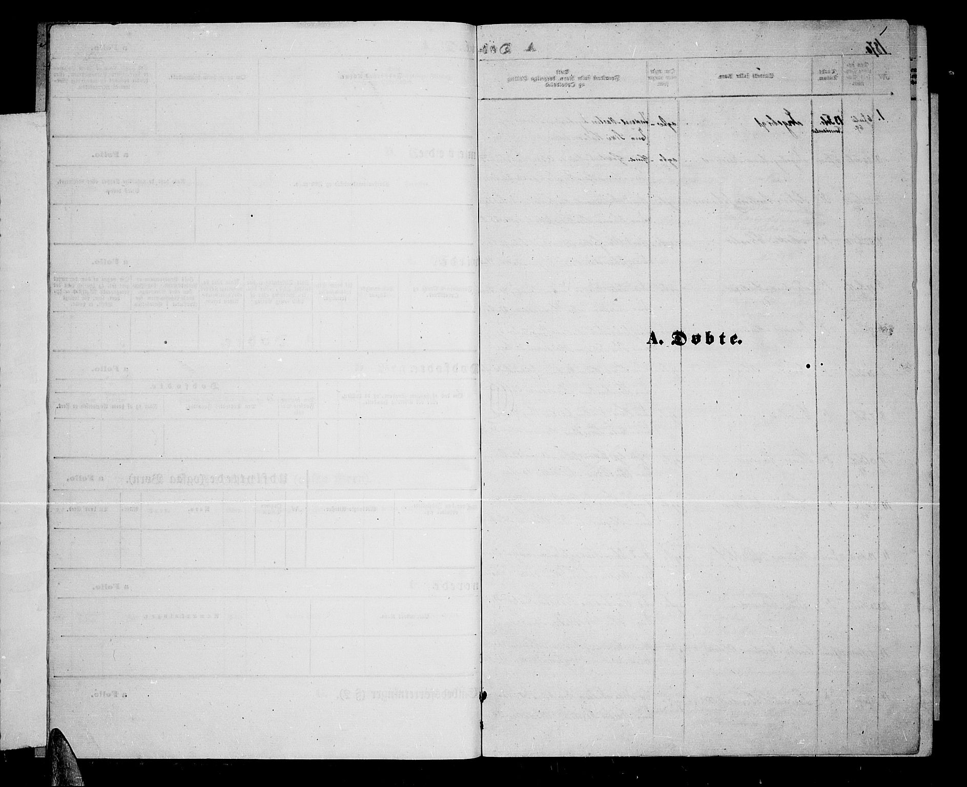 SATØ, Lenvik sokneprestembete, H/Ha: Klokkerbok nr. 5, 1870-1880, s. 1