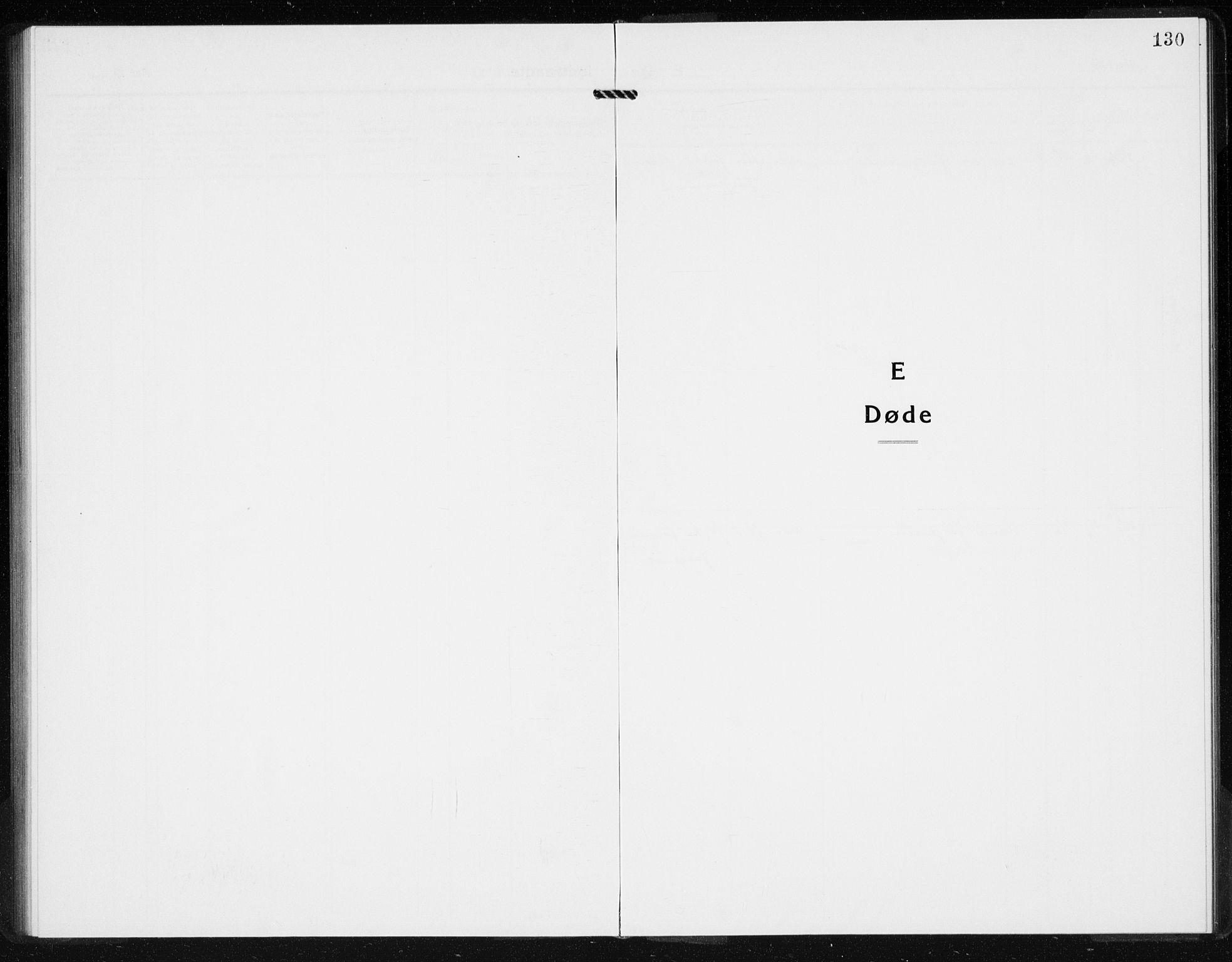 SAKO, Hurum kirkebøker, G/Gb/L0001: Klokkerbok nr. II 1, 1917-1934, s. 130