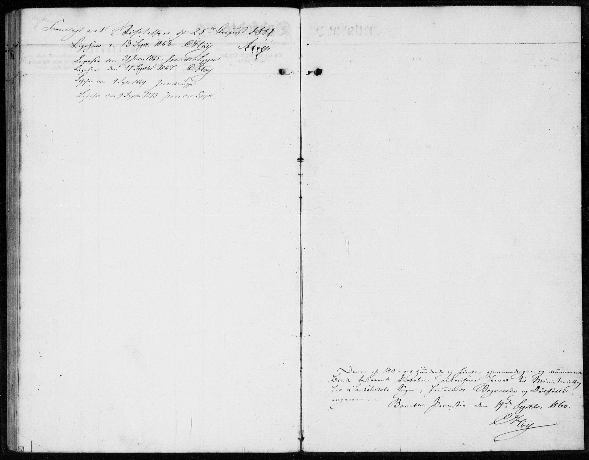 SAKO, Sannidal kirkebøker, F/Fa/L0012: Ministerialbok nr. 12, 1860-1873