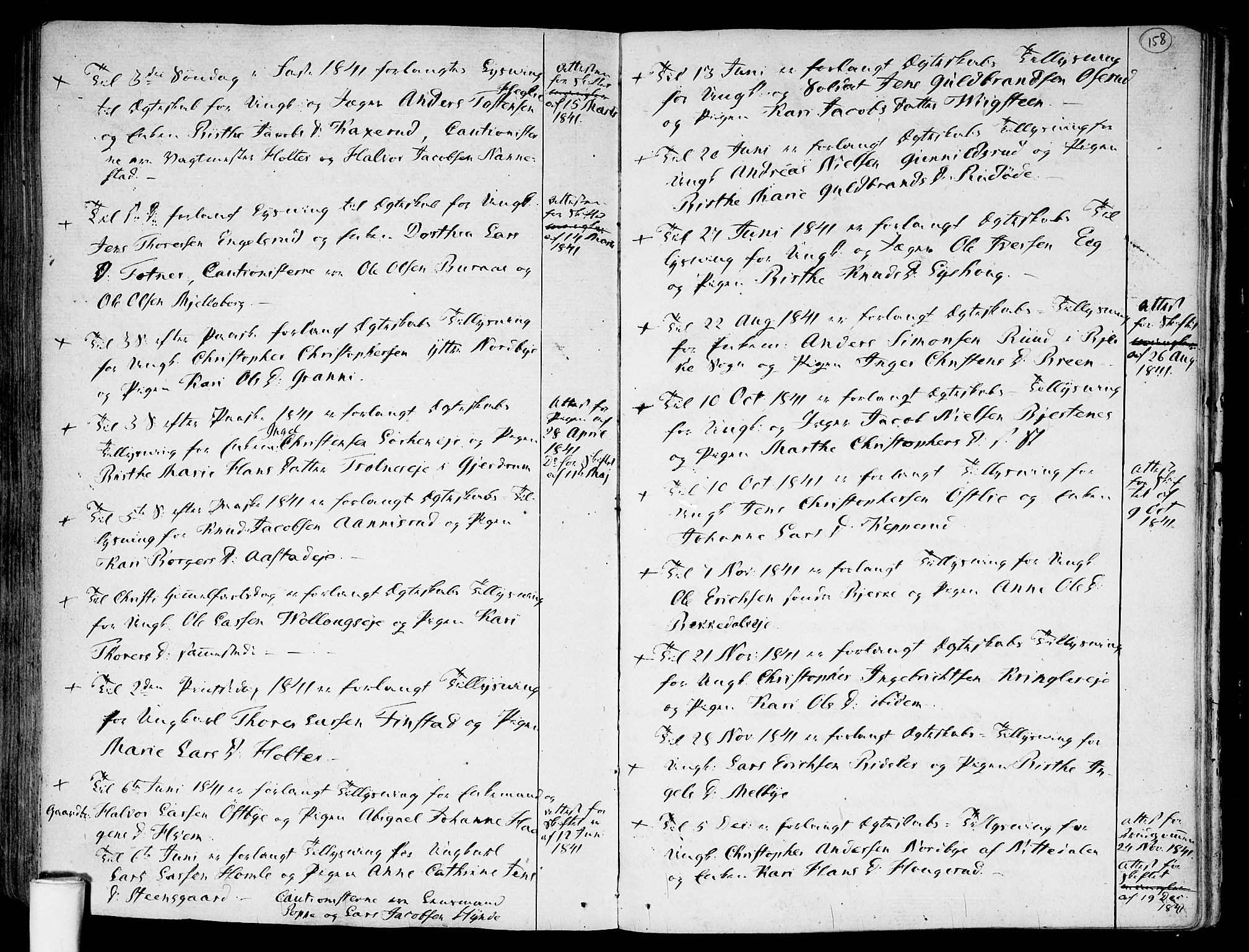 SAO, Nannestad prestekontor Kirkebøker, F/Fa/L0008: Ministerialbok nr. I 8, 1791-1814, s. 158