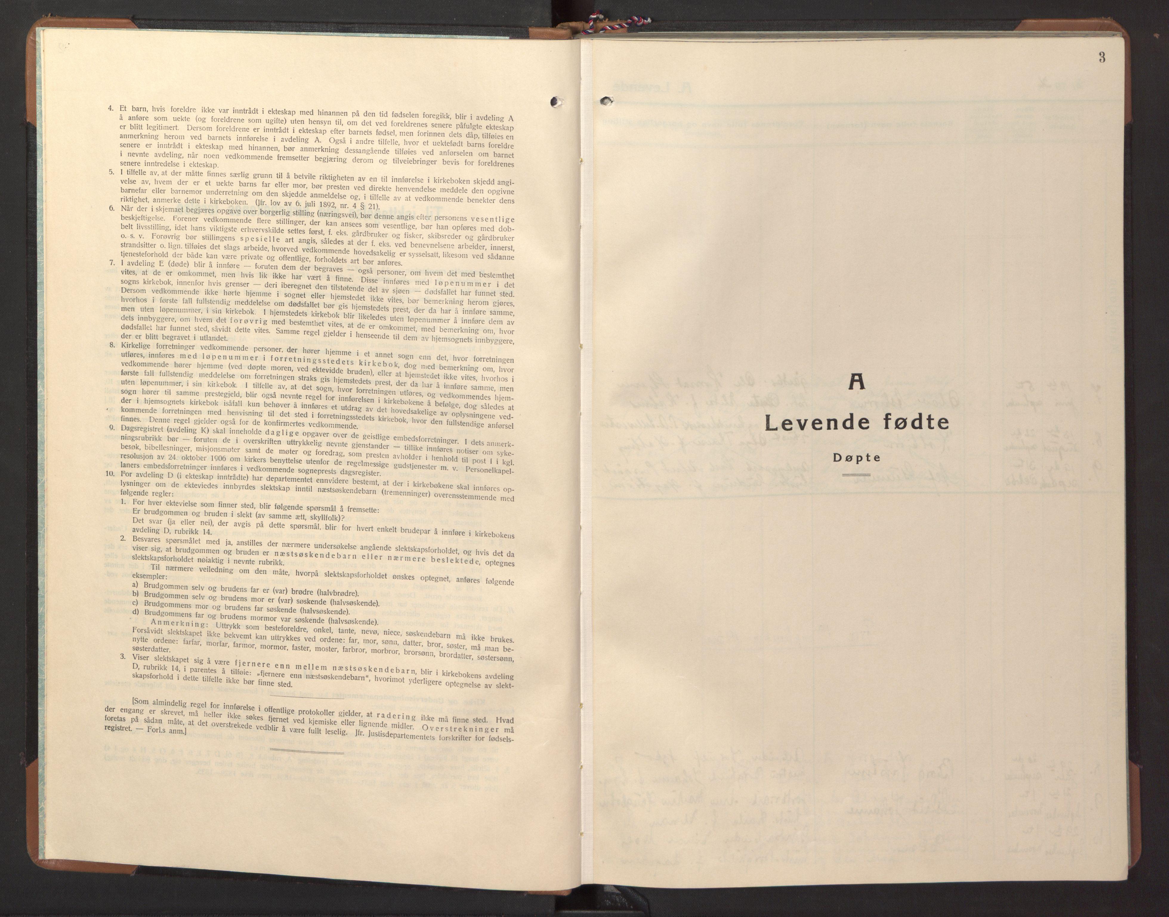 SAT, Ministerialprotokoller, klokkerbøker og fødselsregistre - Nord-Trøndelag, 746/L0456: Klokkerbok nr. 746C02, 1936-1948, s. 3