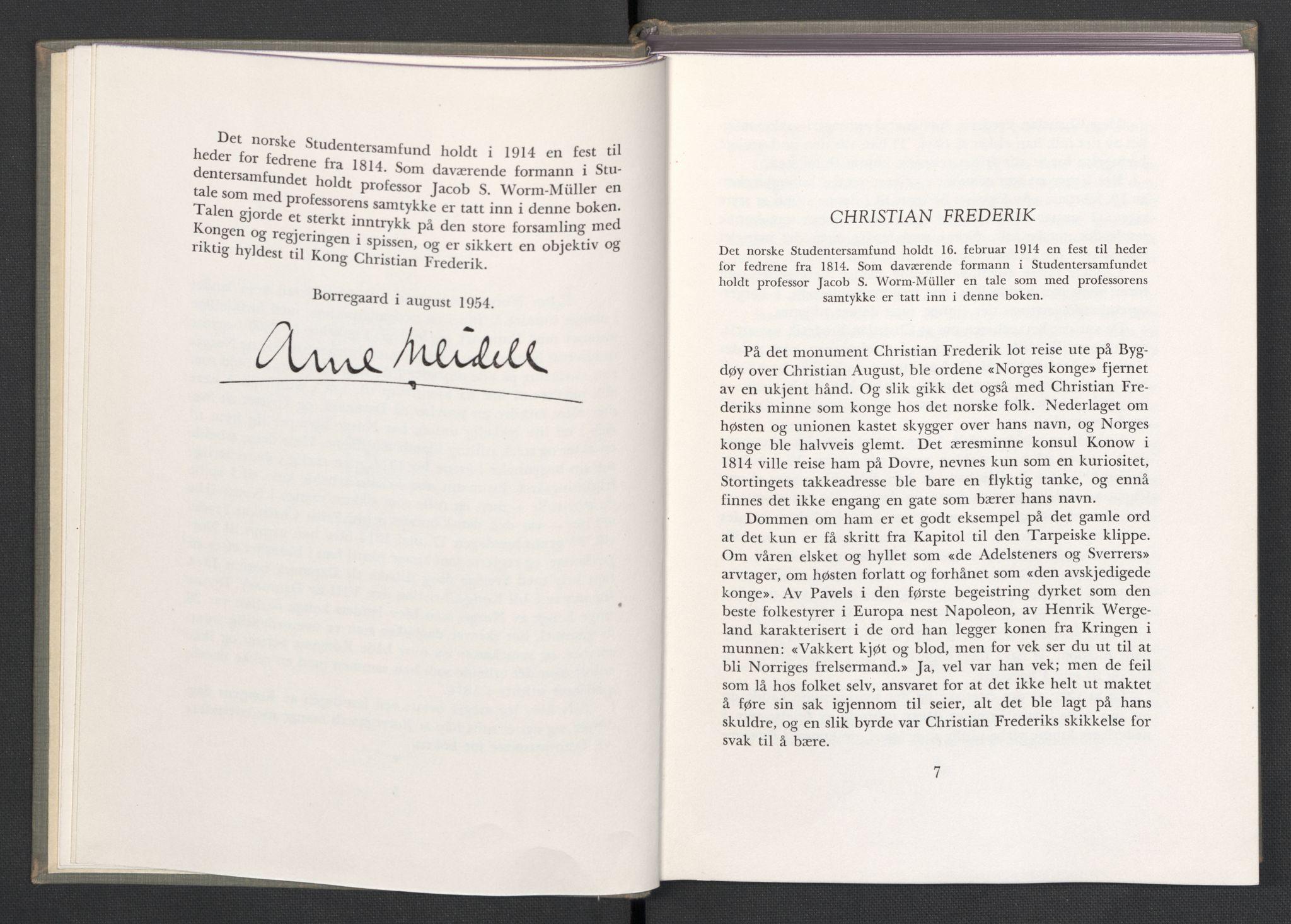 Publikasjoner*, 1954, s. 6-7