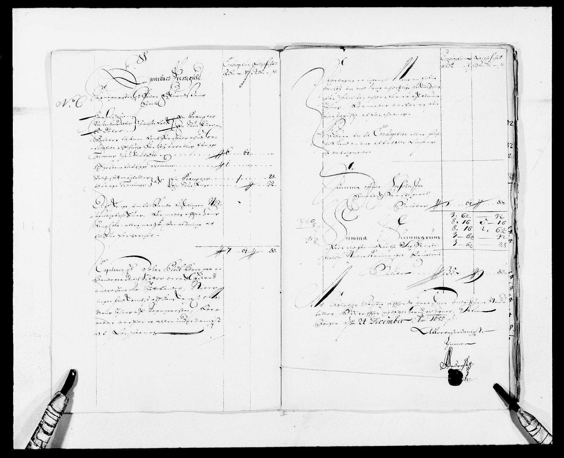 RA, Rentekammeret inntil 1814, Reviderte regnskaper, Fogderegnskap, R11/L0571: Fogderegnskap Nedre Romerike, 1683-1685, s. 502