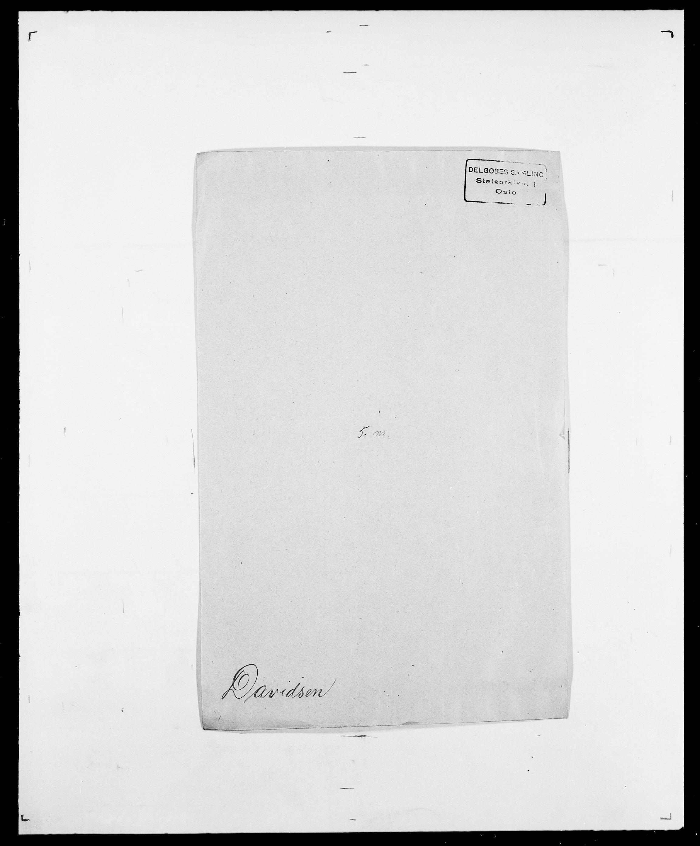 SAO, Delgobe, Charles Antoine - samling, D/Da/L0009: Dahl - v. Düren, s. 371