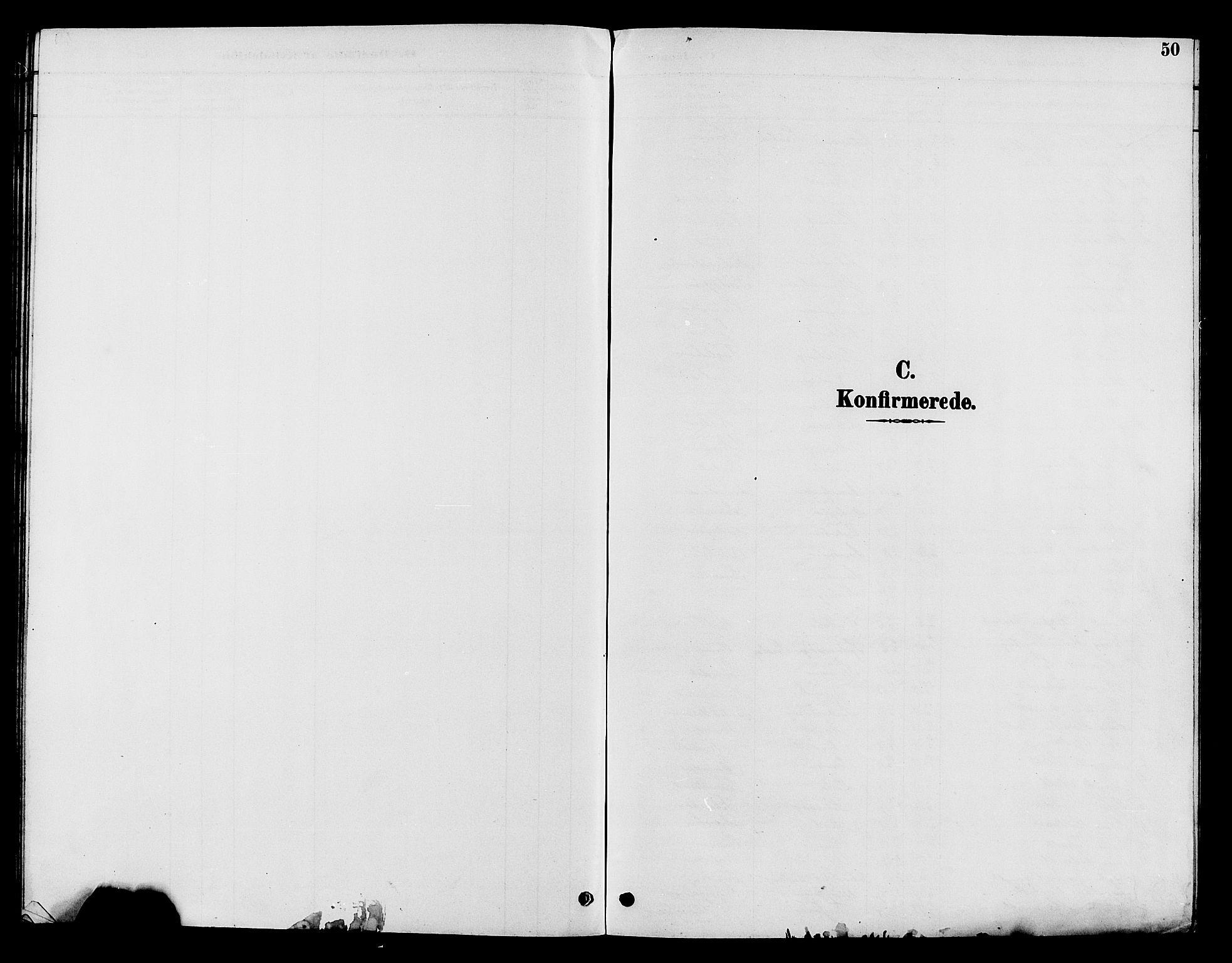 SAH, Nord-Aurdal prestekontor, Klokkerbok nr. 10, 1892-1907, s. 50