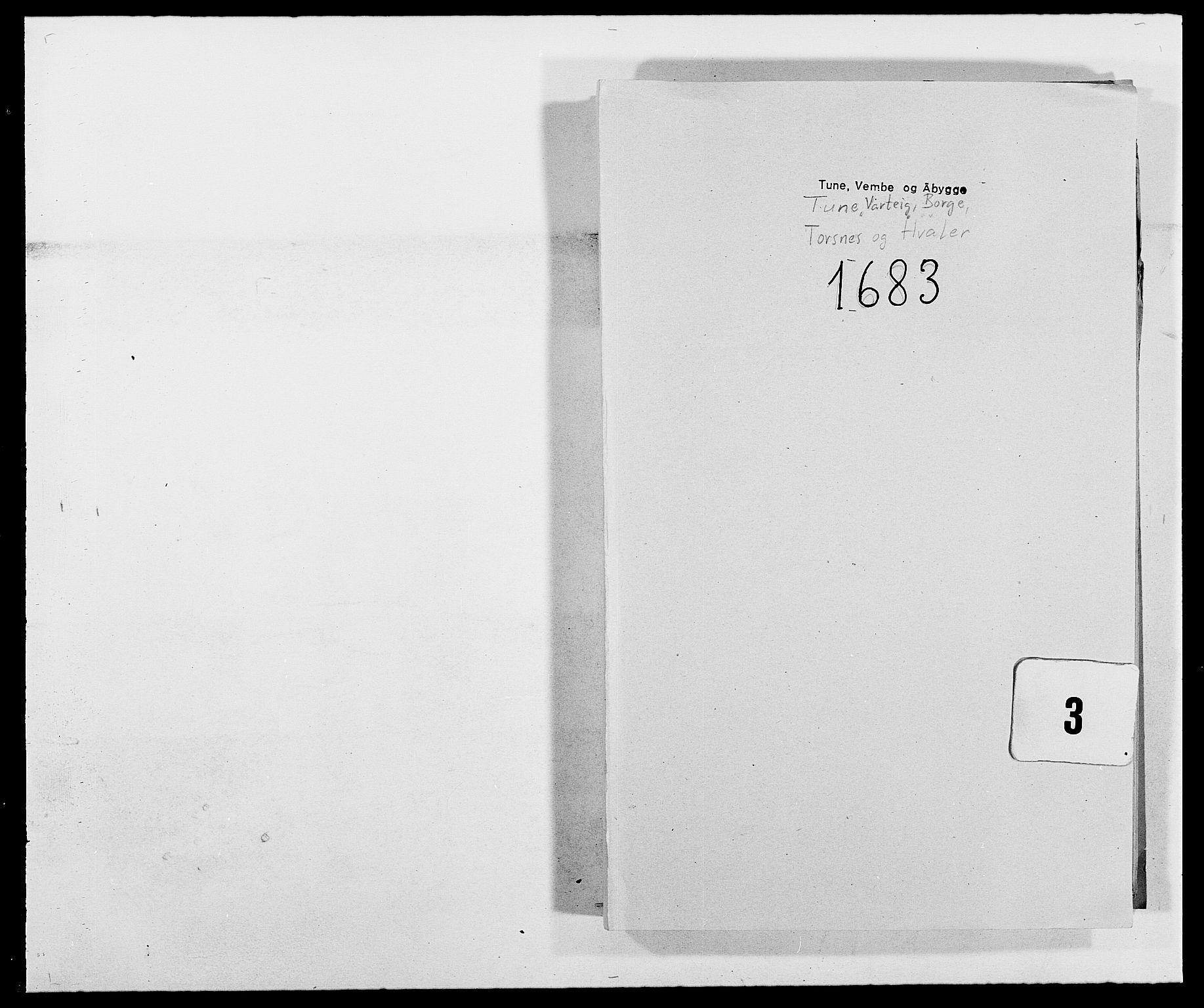 RA, Rentekammeret inntil 1814, Reviderte regnskaper, Fogderegnskap, R03/L0114: Fogderegnskap Onsøy, Tune, Veme og Åbygge fogderi, 1678-1683, s. 340
