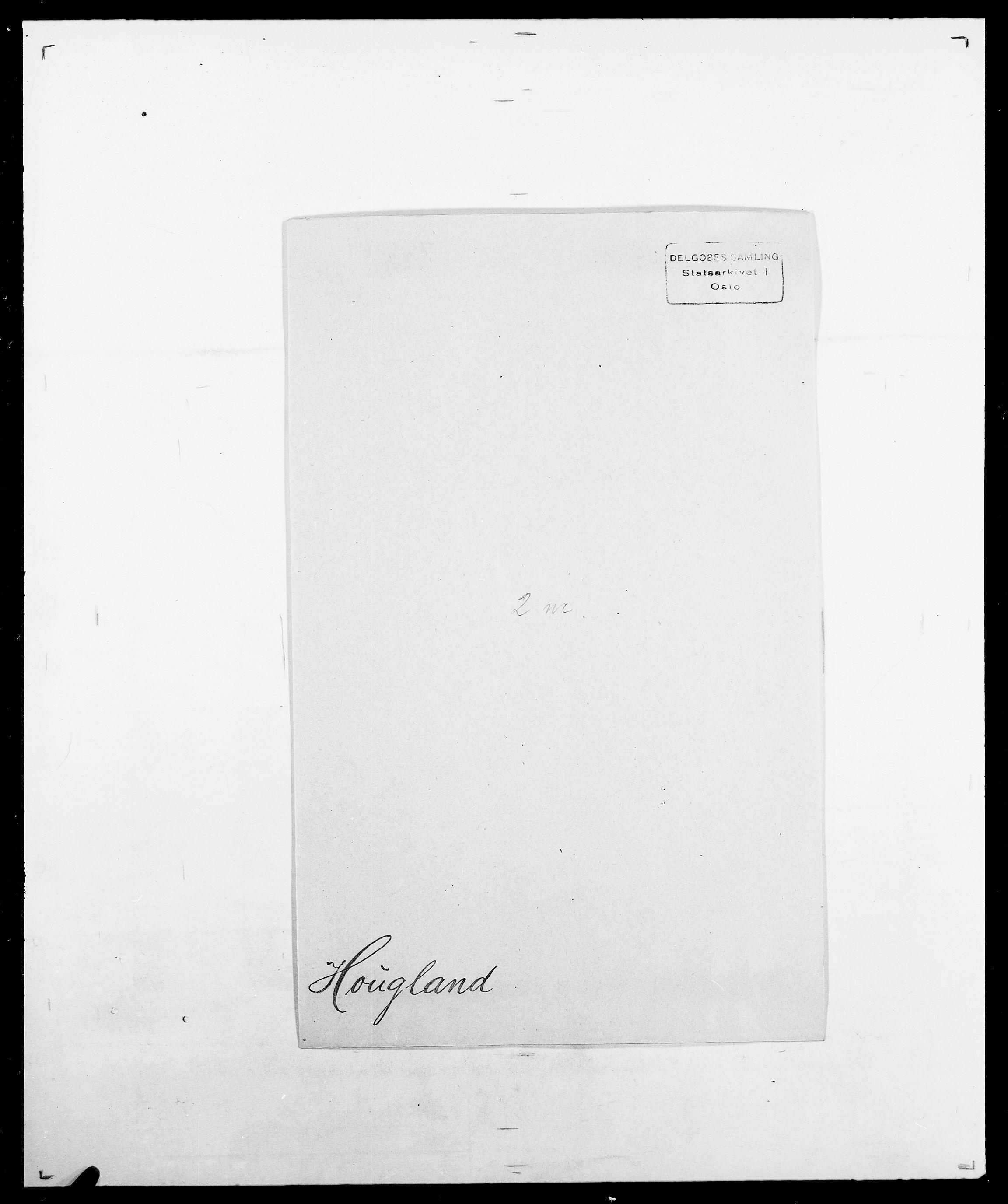 SAO, Delgobe, Charles Antoine - samling, D/Da/L0018: Hoch - Howert, s. 1021