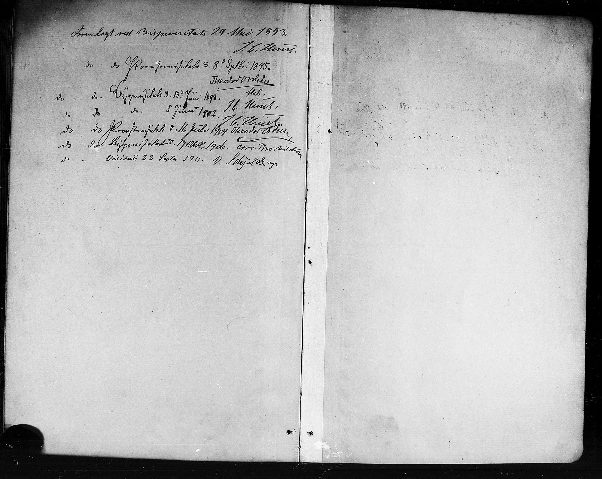 SAKO, Holla kirkebøker, G/Ga/L0005: Klokkerbok nr. I 5, 1891-1917