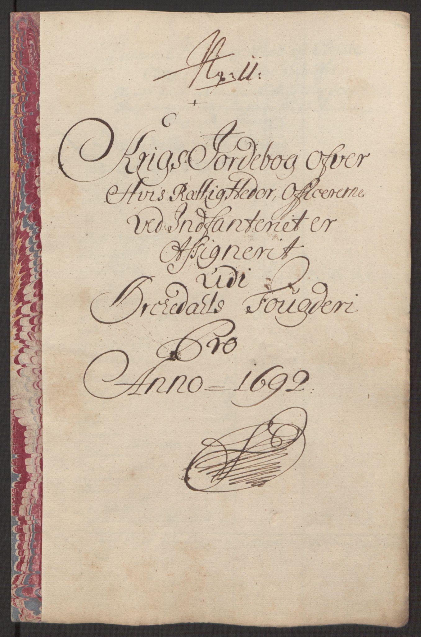 RA, Rentekammeret inntil 1814, Reviderte regnskaper, Fogderegnskap, R58/L3937: Fogderegnskap Orkdal, 1691-1692, s. 371
