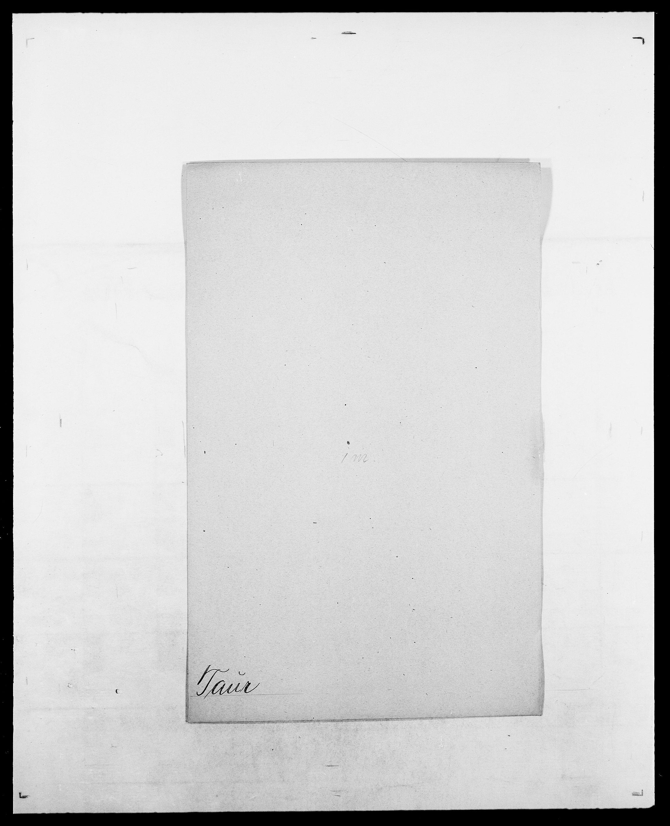 SAO, Delgobe, Charles Antoine - samling, D/Da/L0038: Svanenskjold - Thornsohn, s. 366