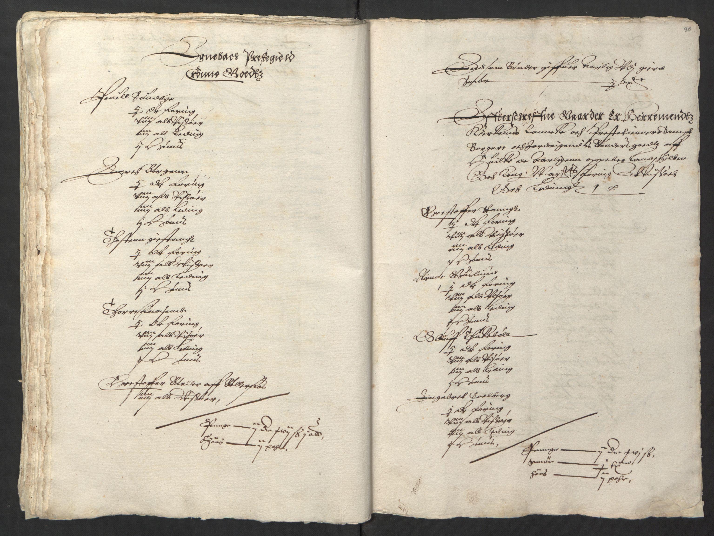 RA, Stattholderembetet 1572-1771, Ek/L0001: Jordebøker før 1624 og til utligning av garnisonsskatt 1624-1626:, 1624-1625, s. 172