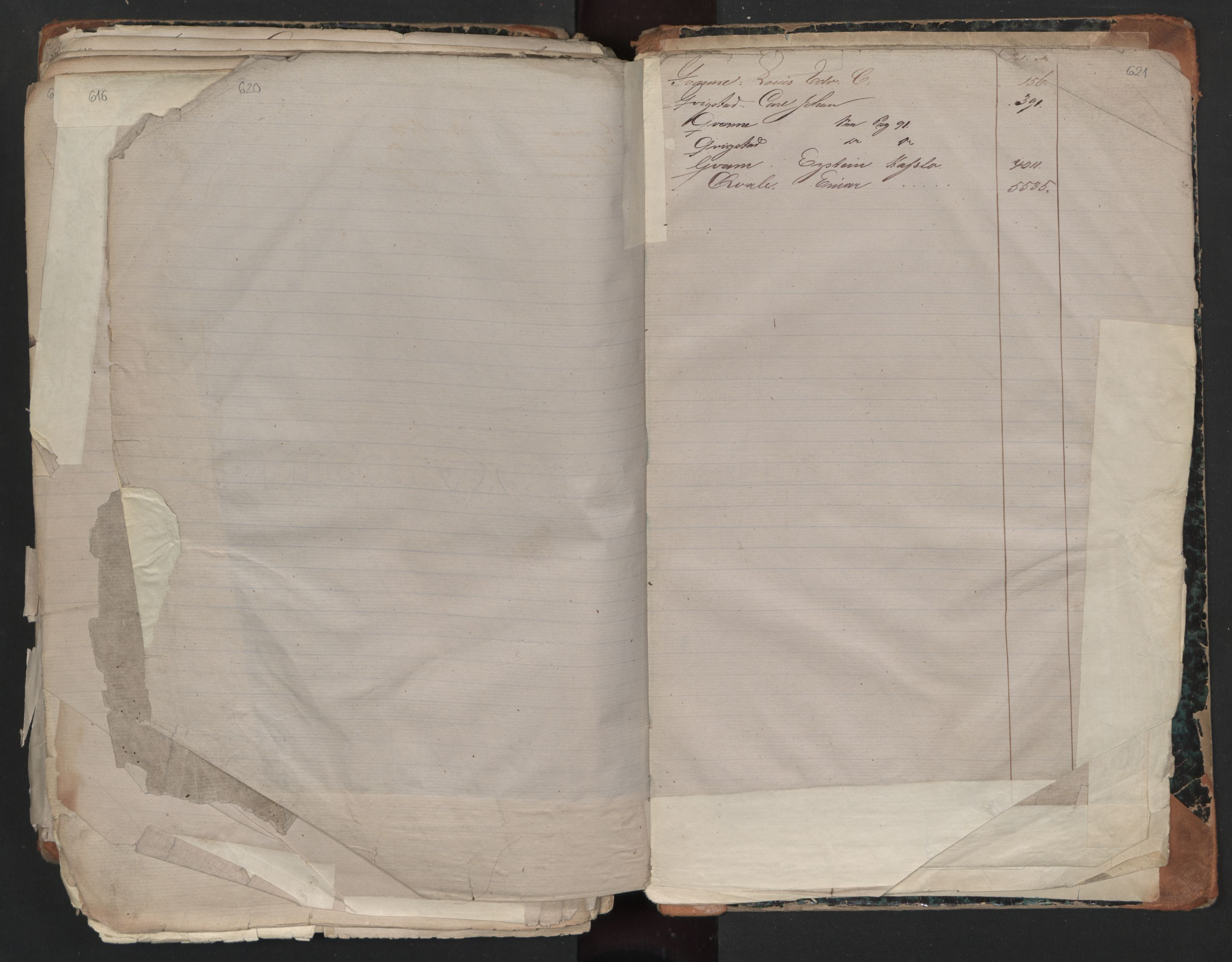 SAO, Oslo sjømannskontor, F/Fa/L0001: Register for Kristiania krets, 1866-1891, s. 620-621