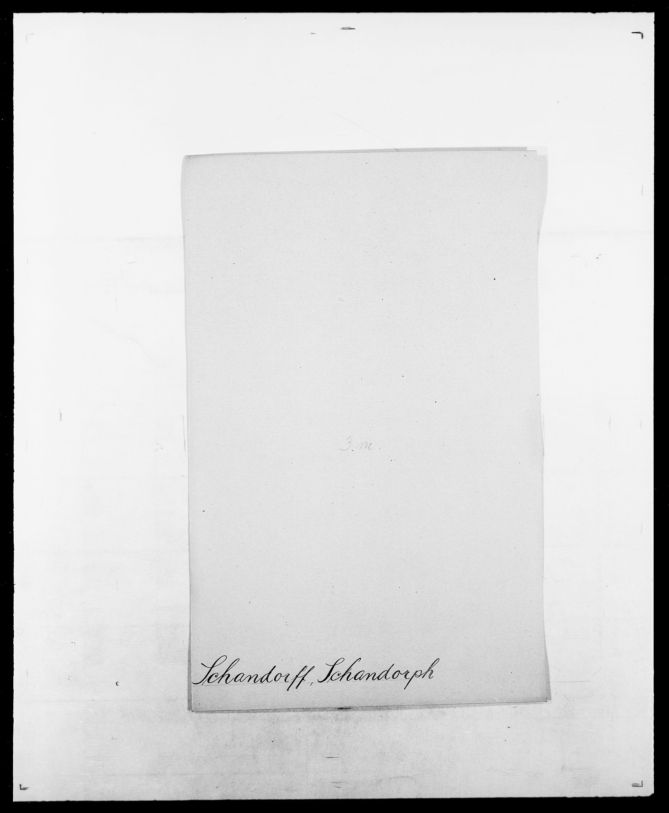 SAO, Delgobe, Charles Antoine - samling, D/Da/L0034: Saabye - Schmincke, s. 393
